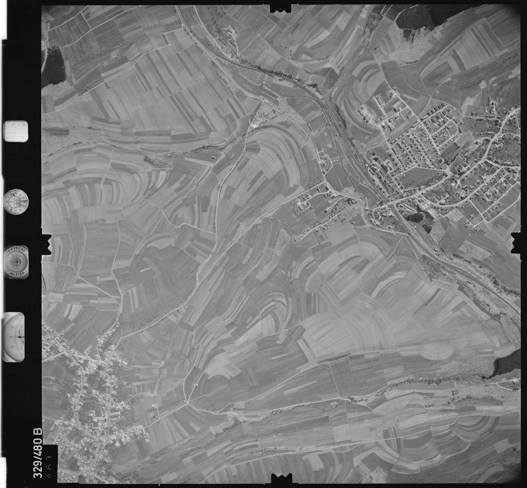 Luftbild: Film 89 Bildnr. 461, Bild 1