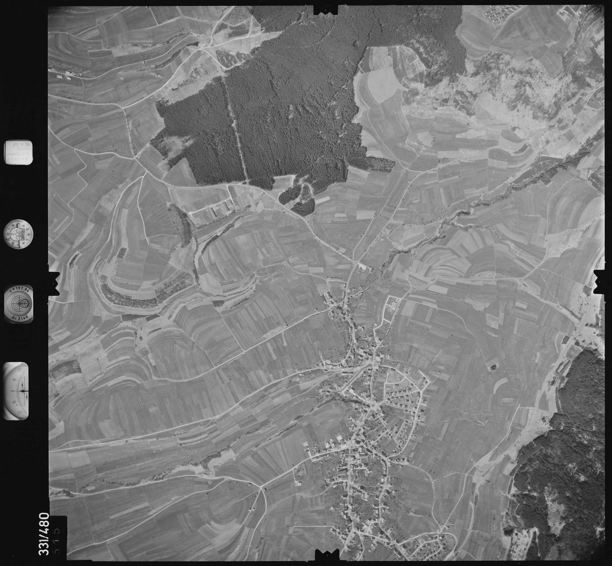 Luftbild: Film 89 Bildnr. 515, Bild 1