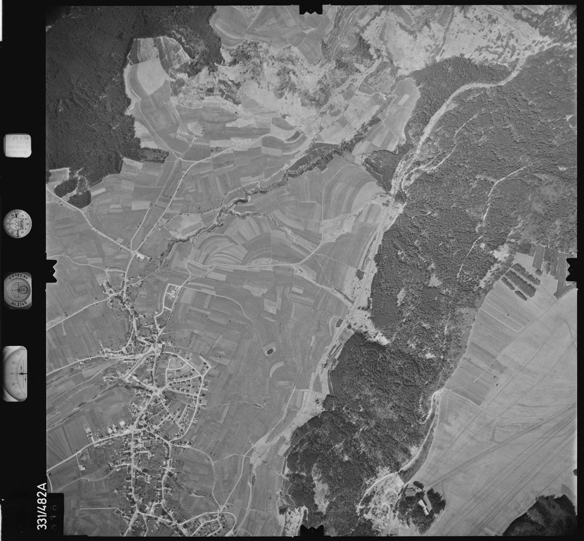 Luftbild: Film 89 Bildnr. 516, Bild 1