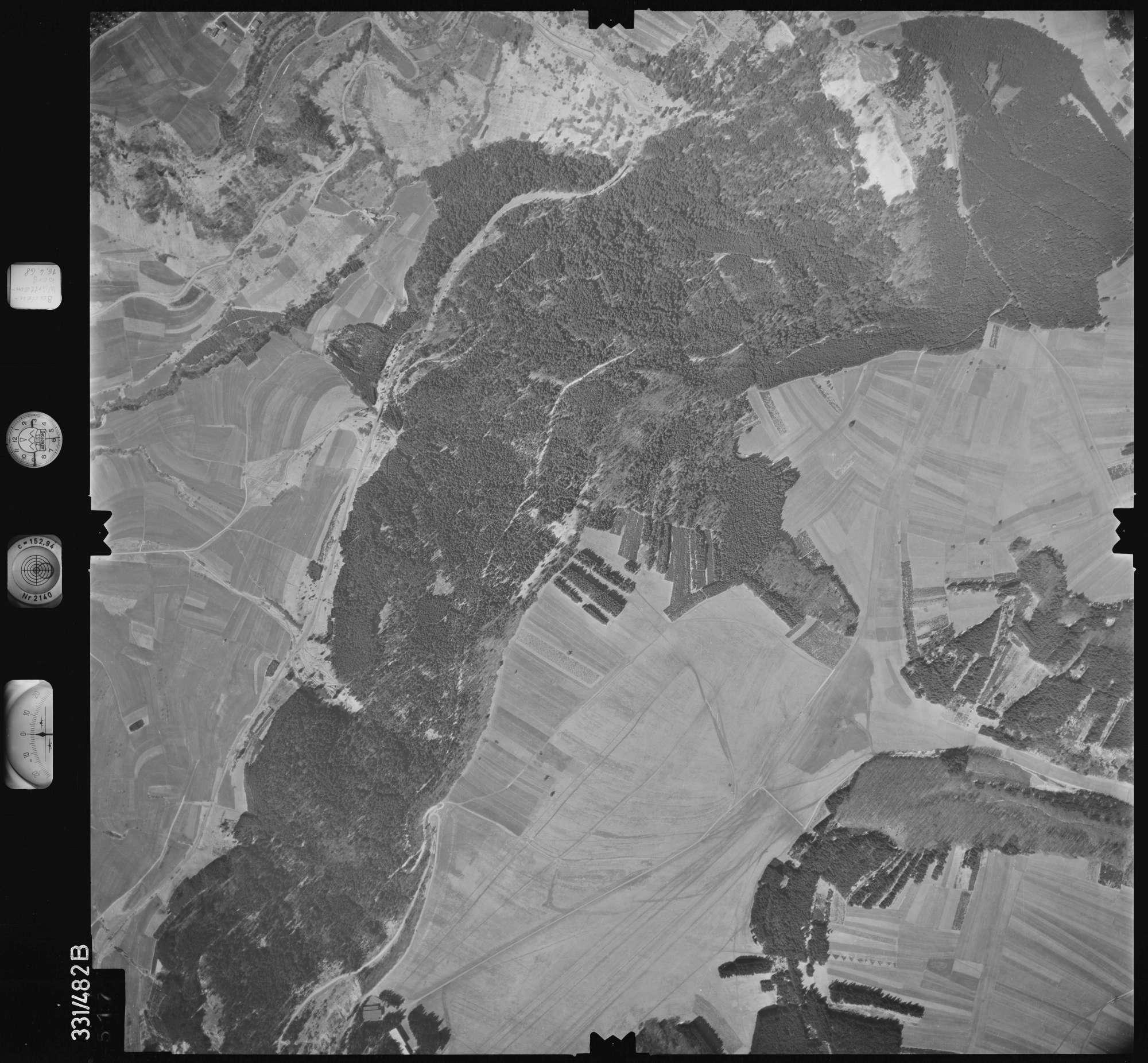 Luftbild: Film 89 Bildnr. 517, Bild 1
