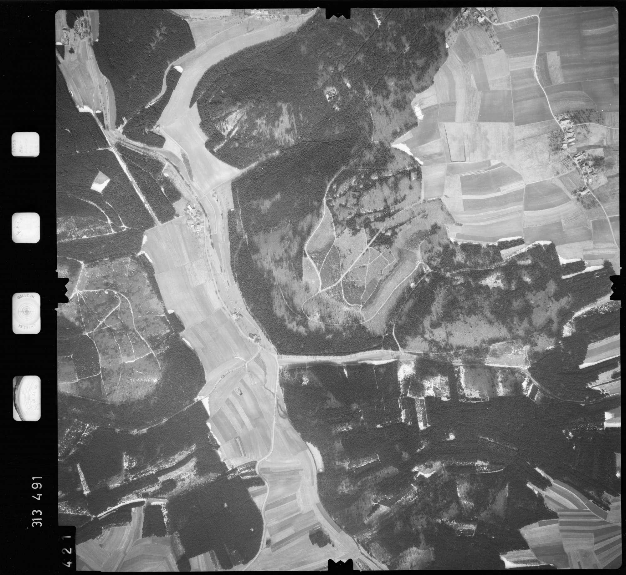 Luftbild: Film 58 Bildnr. 421, Bild 1