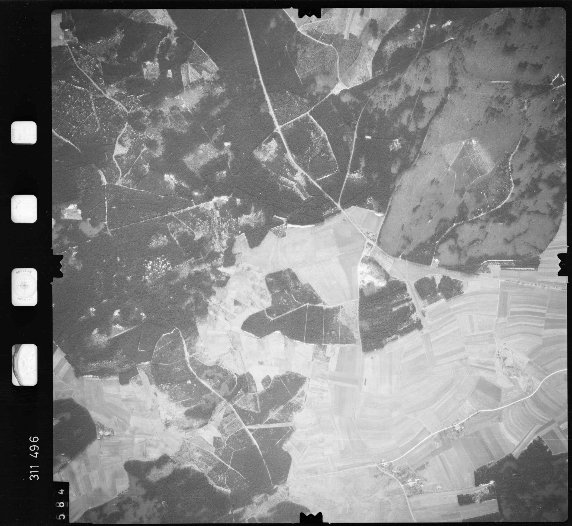 Luftbild: Film 58 Bildnr. 584, Bild 1