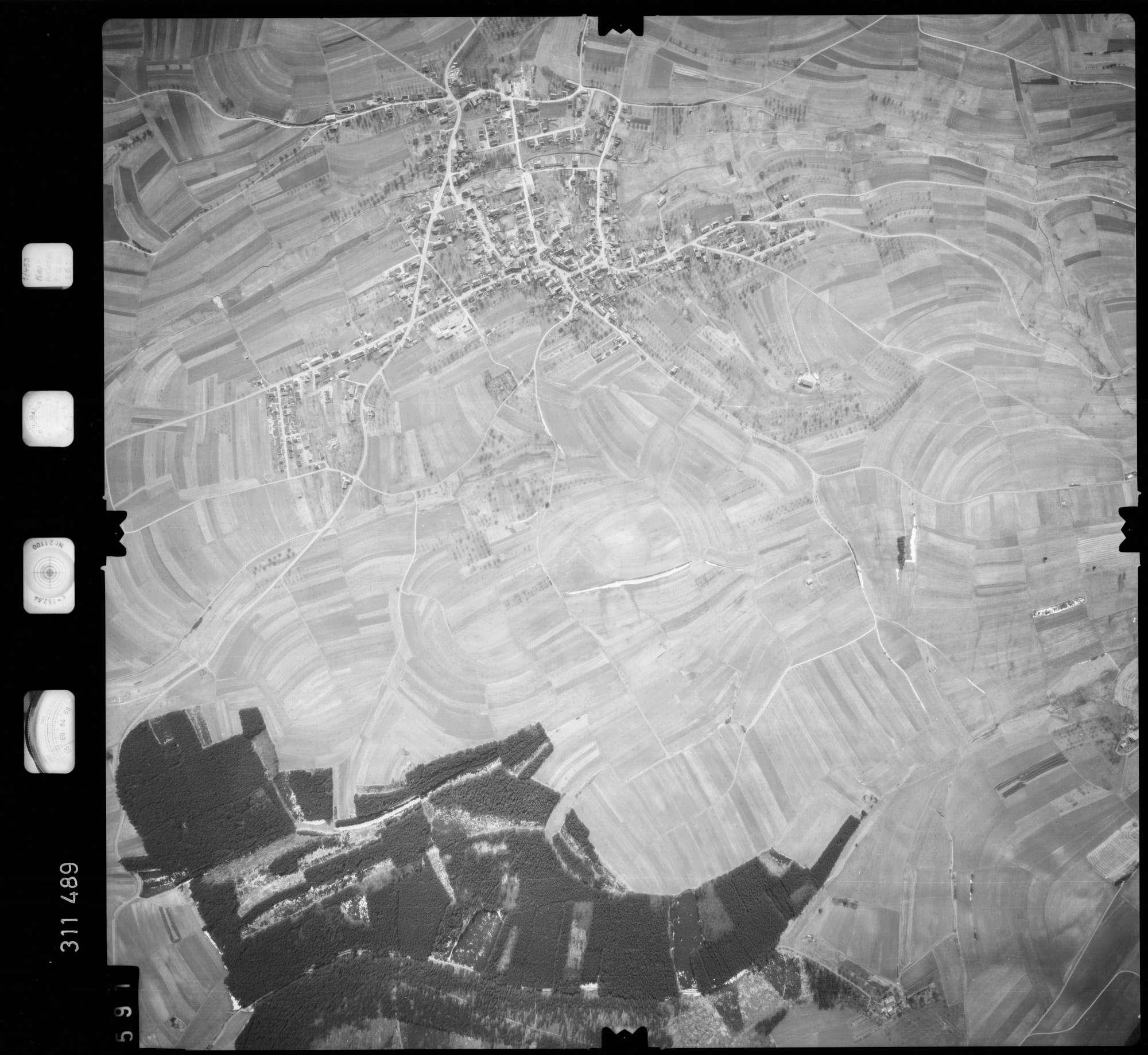Luftbild: Film 58 Bildnr. 591, Bild 1