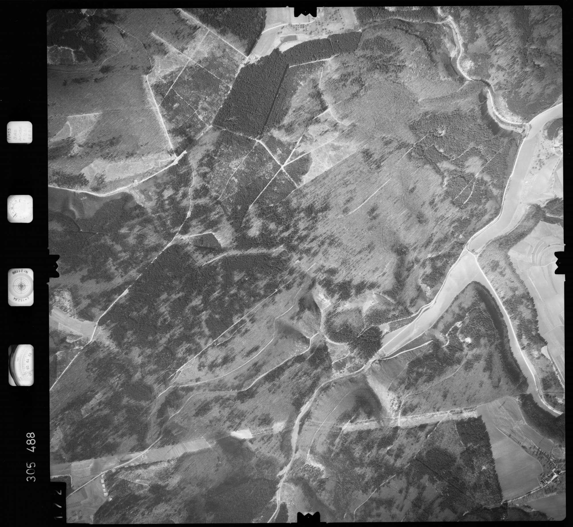 Luftbild: Film 61 Bildnr. 172, Bild 1