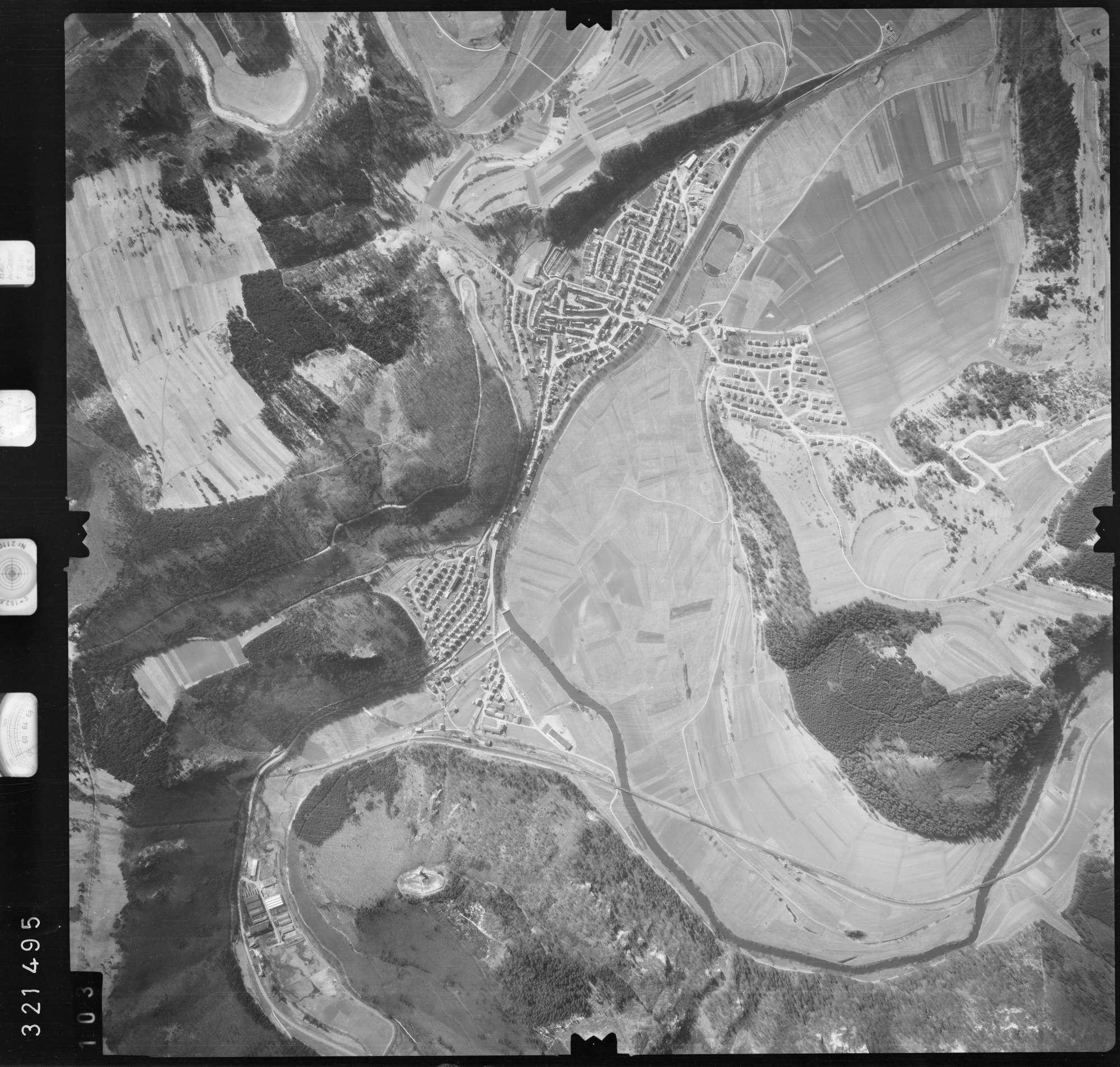 Luftbild: Film 53 Bildnr. 103, Bild 1