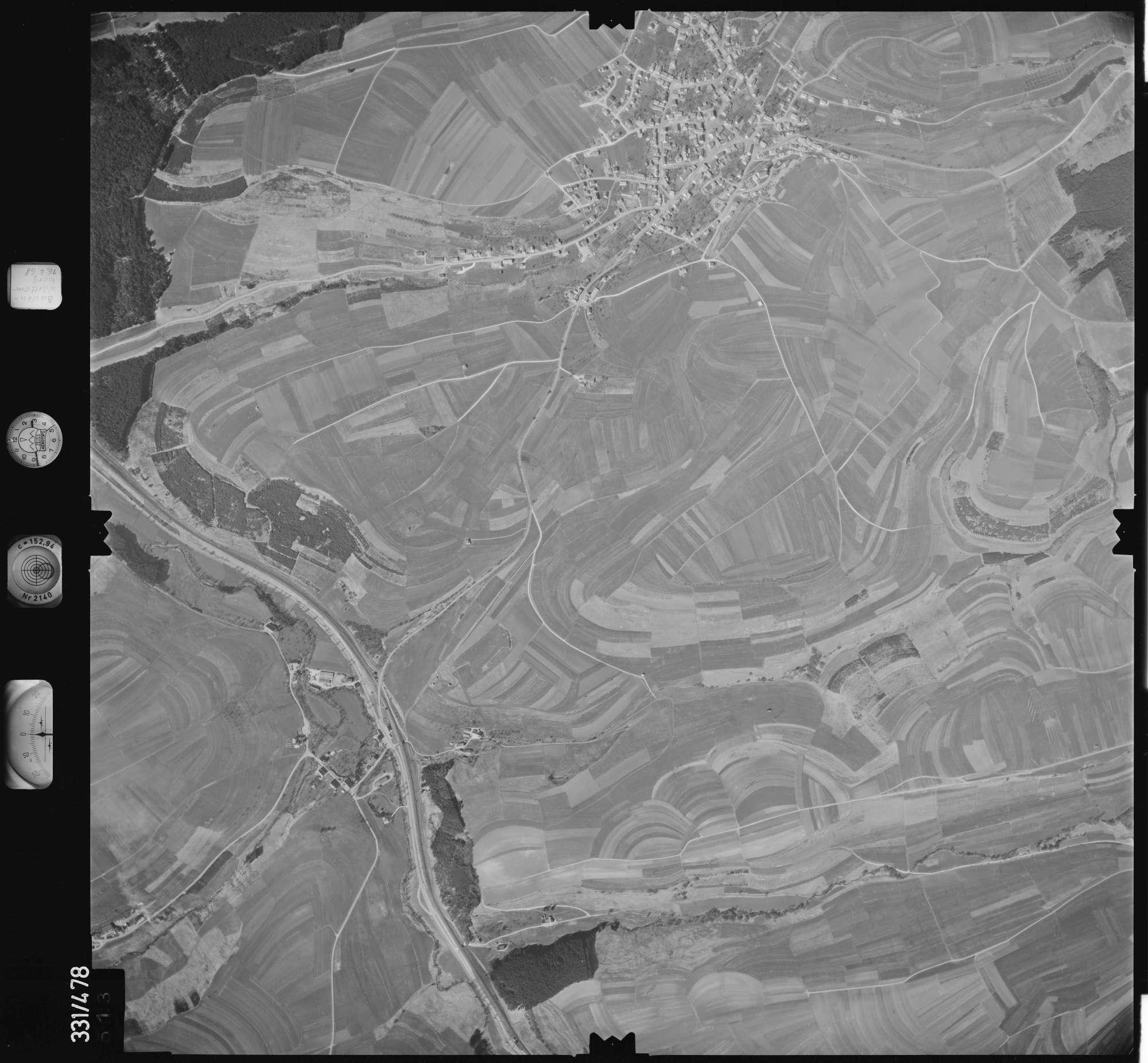 Luftbild: Film 89 Bildnr. 513, Bild 1