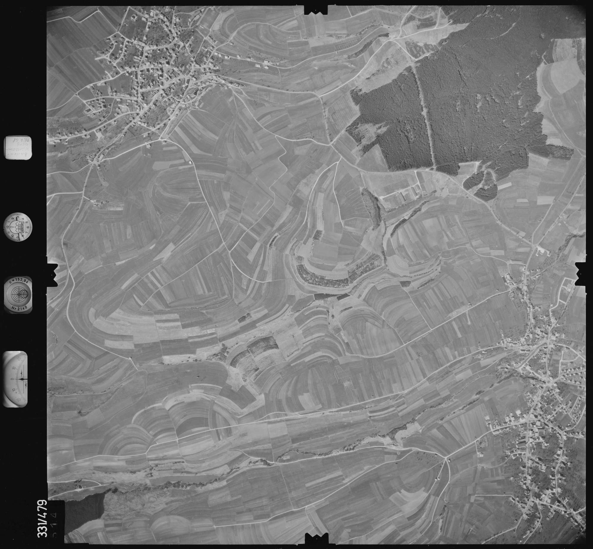 Luftbild: Film 89 Bildnr. 514, Bild 1