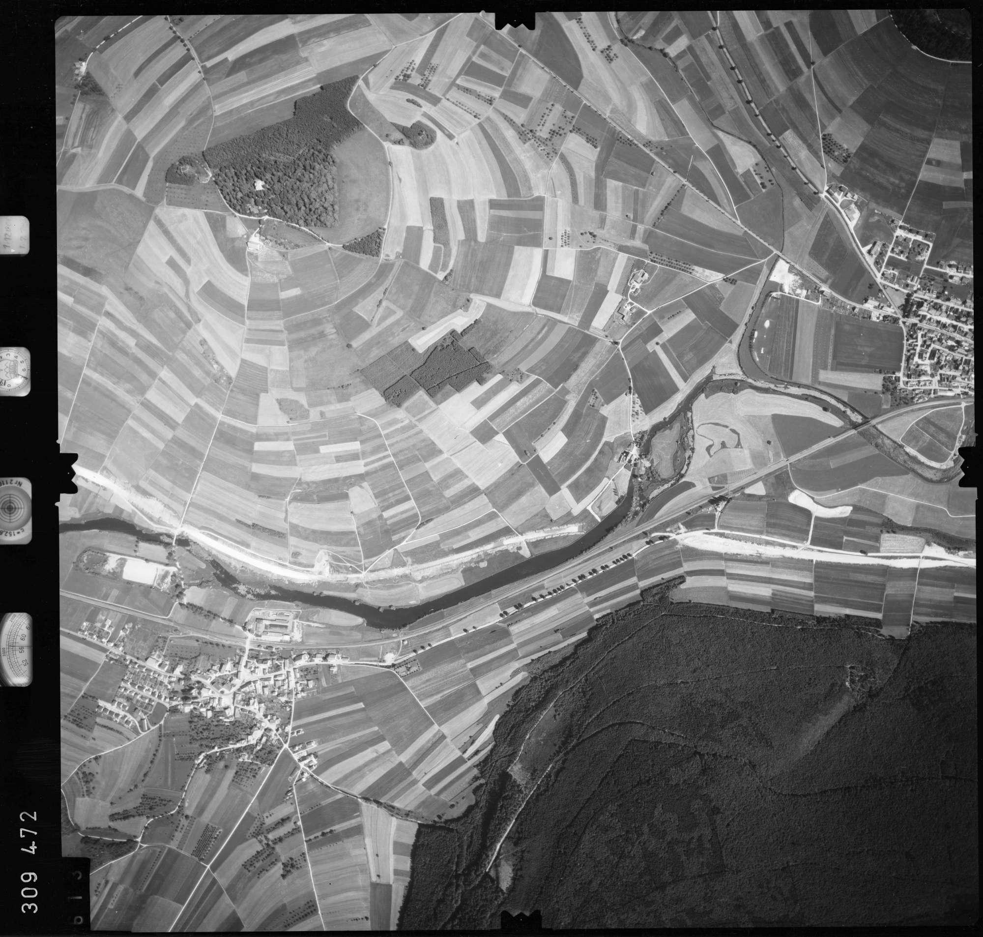 Luftbild: Film 56 Bildnr. 613, Bild 1