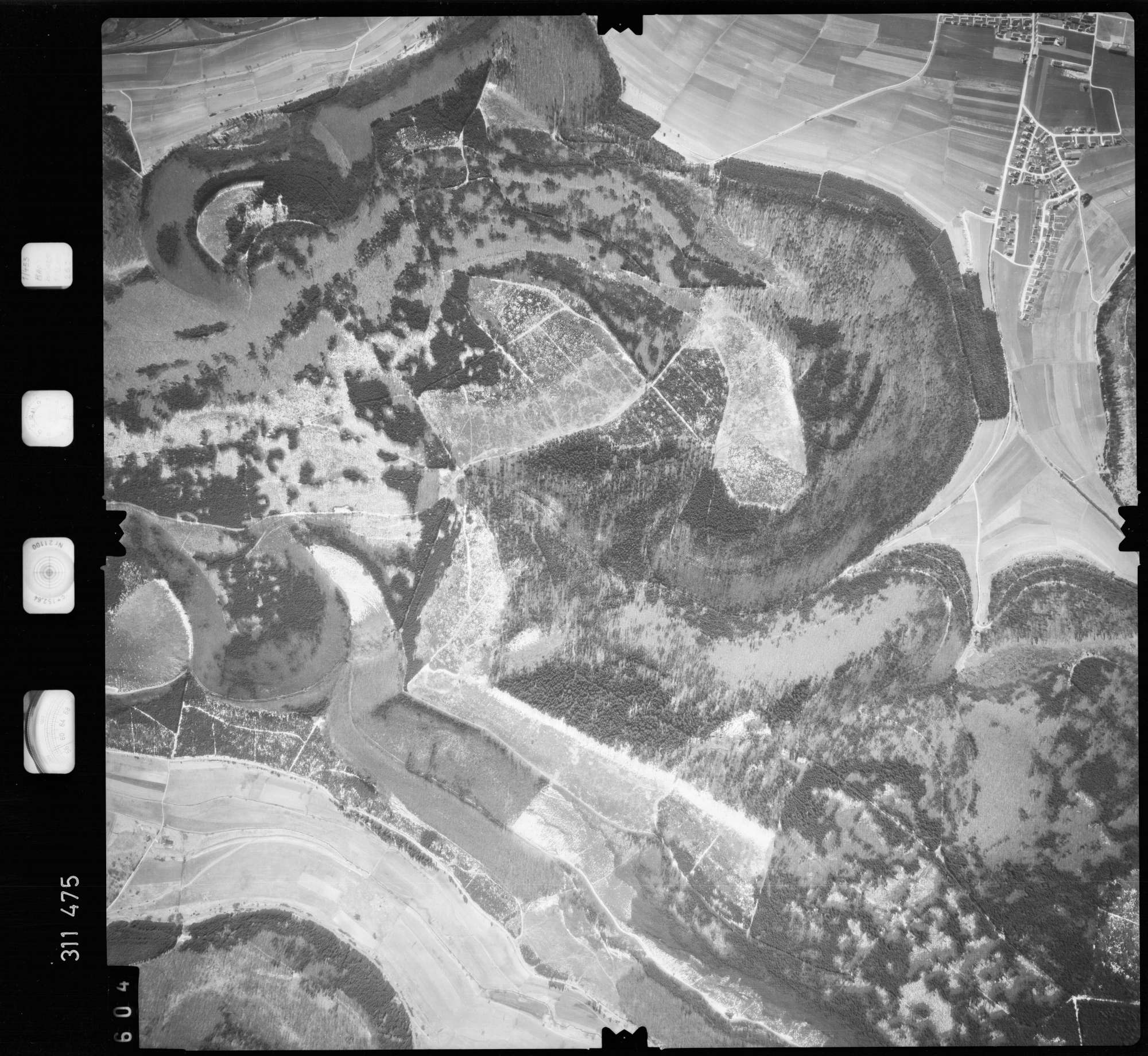 Luftbild: Film 58 Bildnr. 604, Bild 1