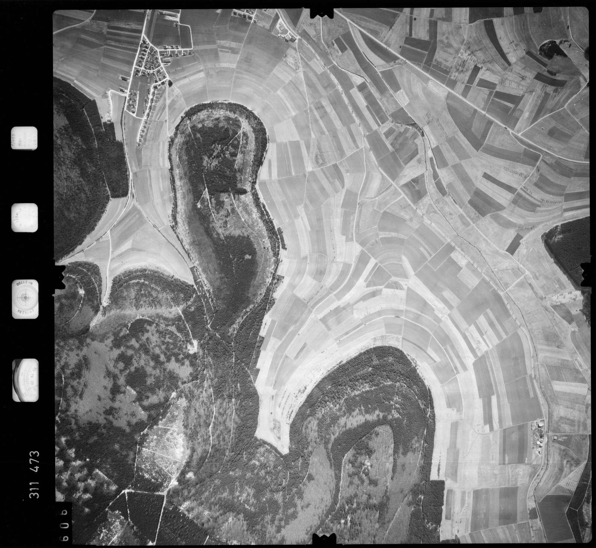 Luftbild: Film 58 Bildnr. 606, Bild 1
