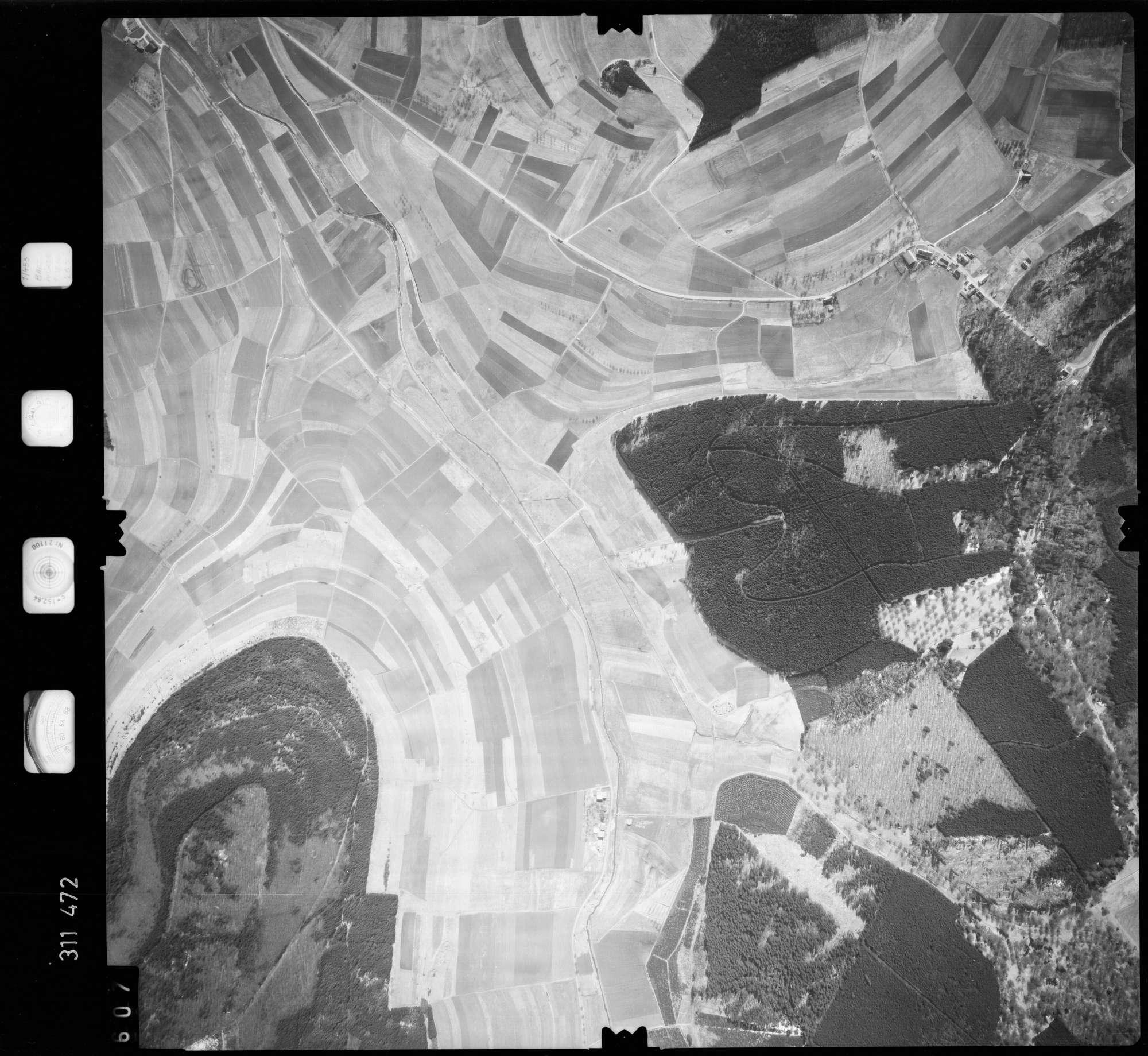 Luftbild: Film 58 Bildnr. 607, Bild 1