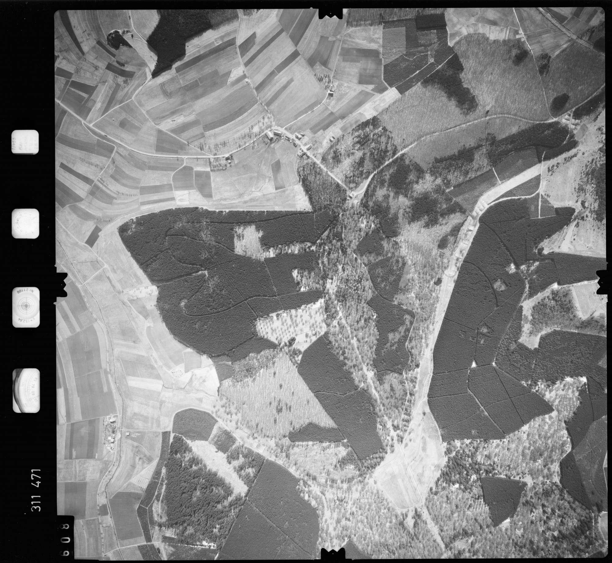 Luftbild: Film 58 Bildnr. 608, Bild 1