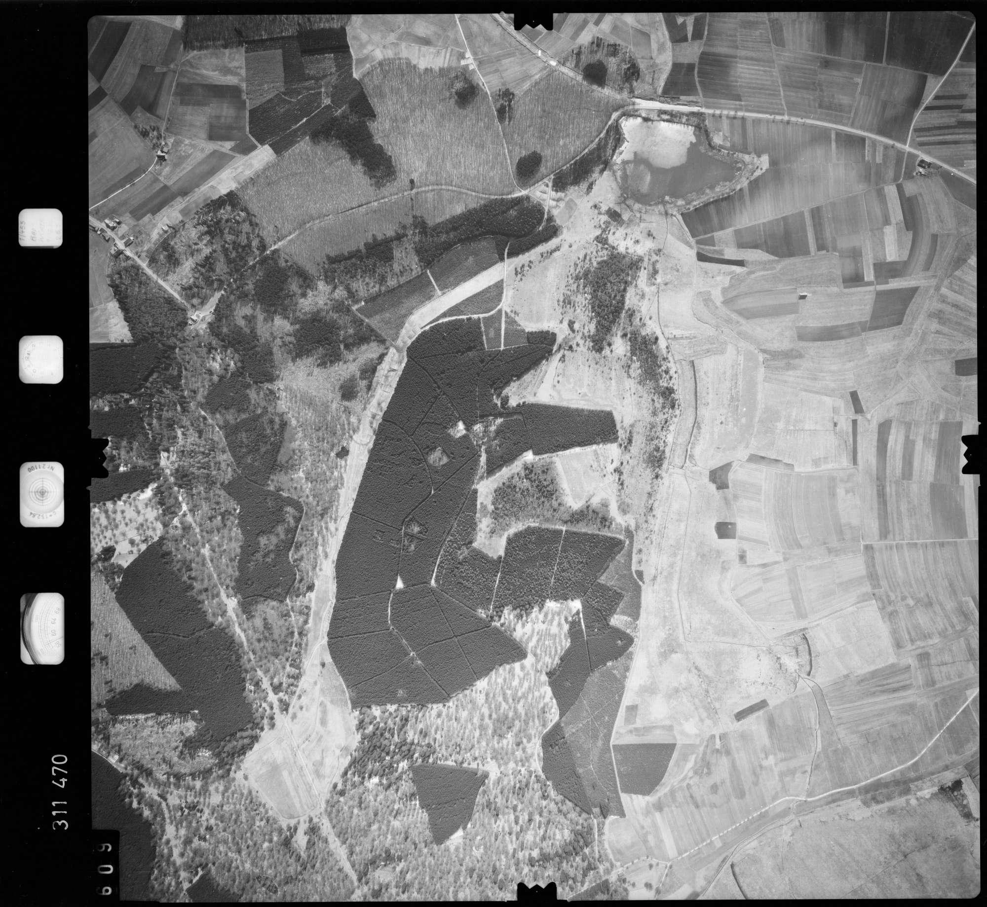 Luftbild: Film 58 Bildnr. 609, Bild 1
