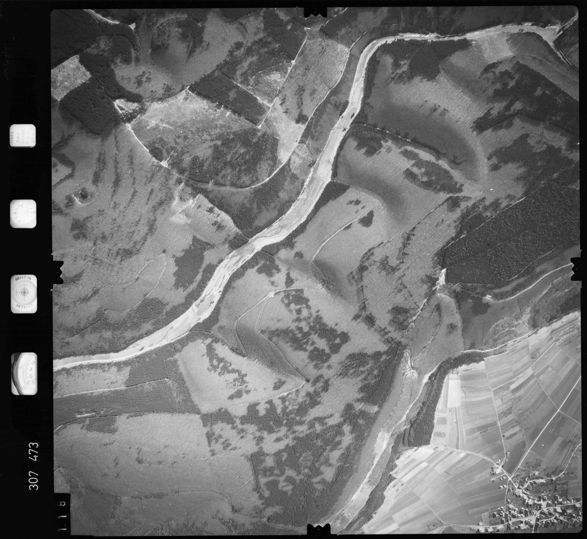 Luftbild: Film 61 Bildnr. 118, Bild 1