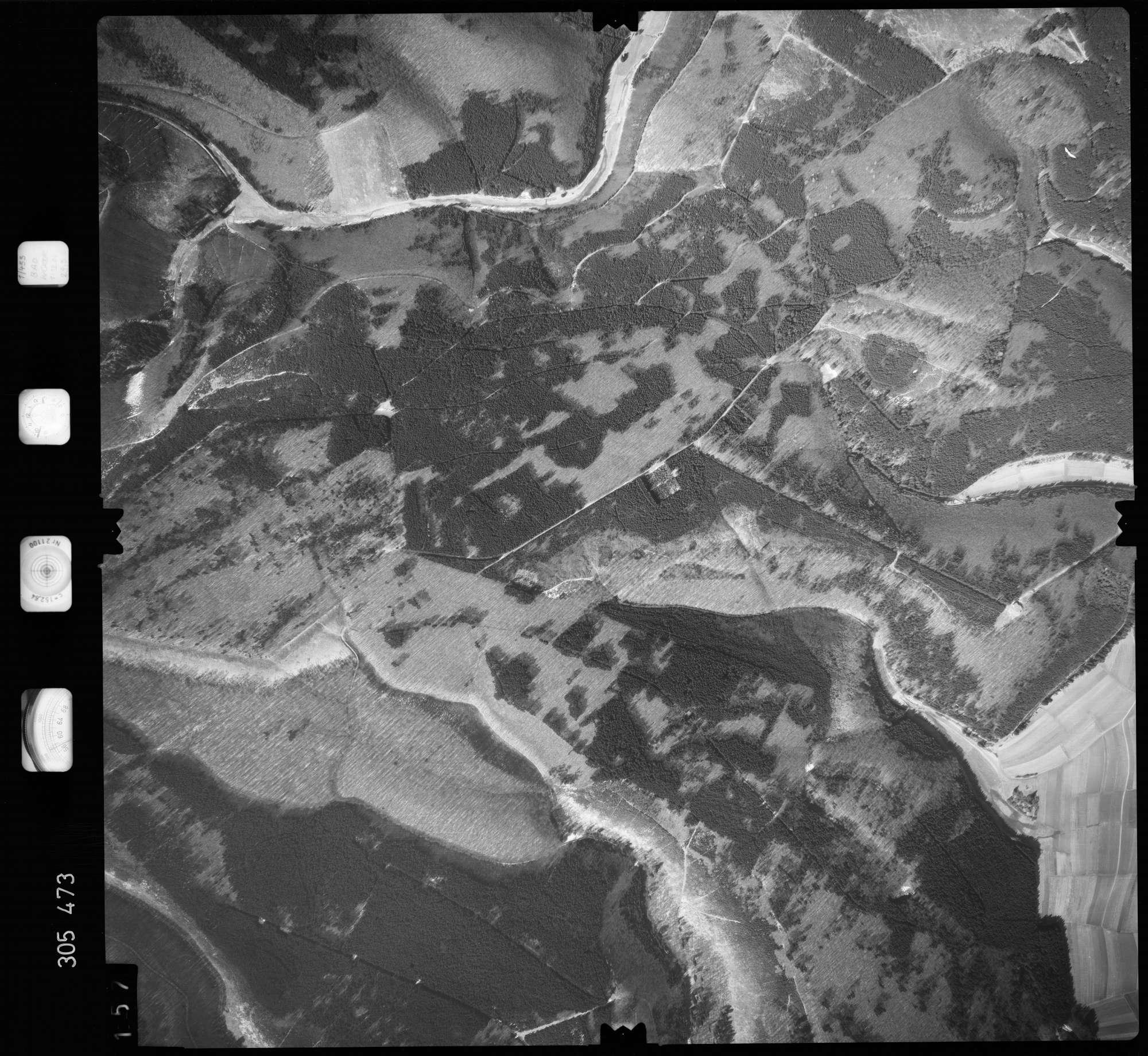 Luftbild: Film 61 Bildnr. 157, Bild 1