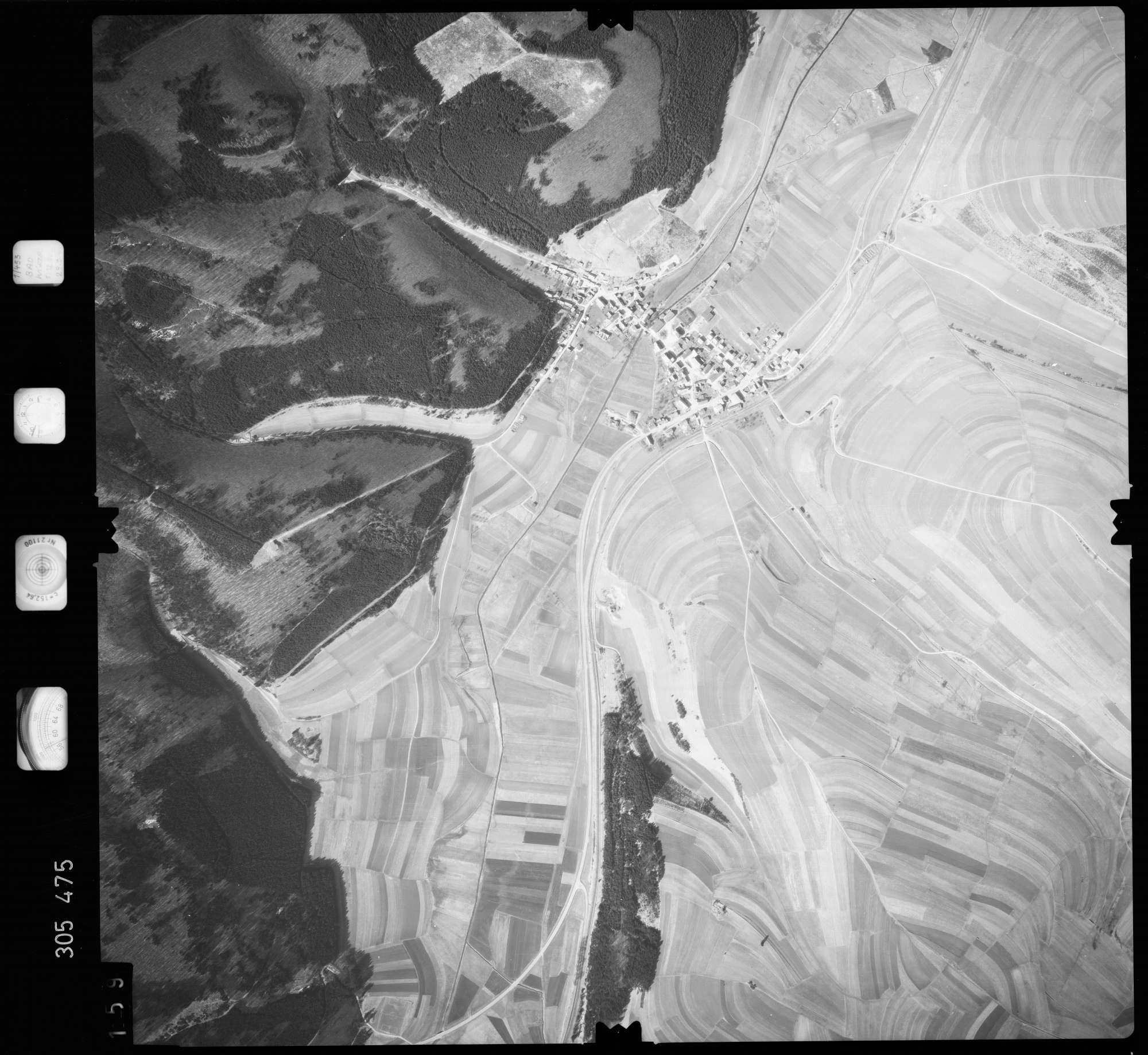 Luftbild: Film 61 Bildnr. 159, Bild 1