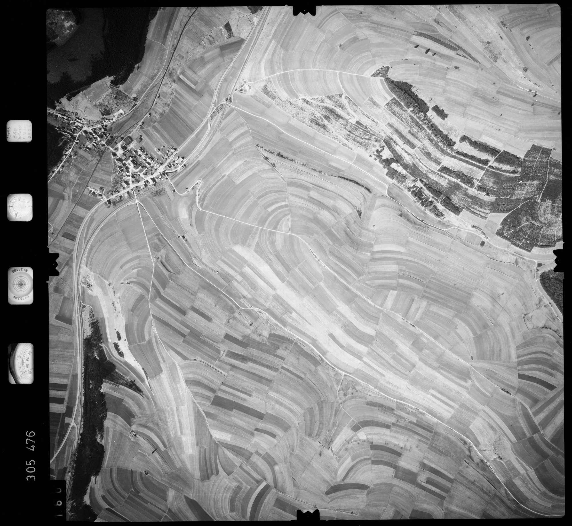 Luftbild: Film 61 Bildnr. 160, Bild 1