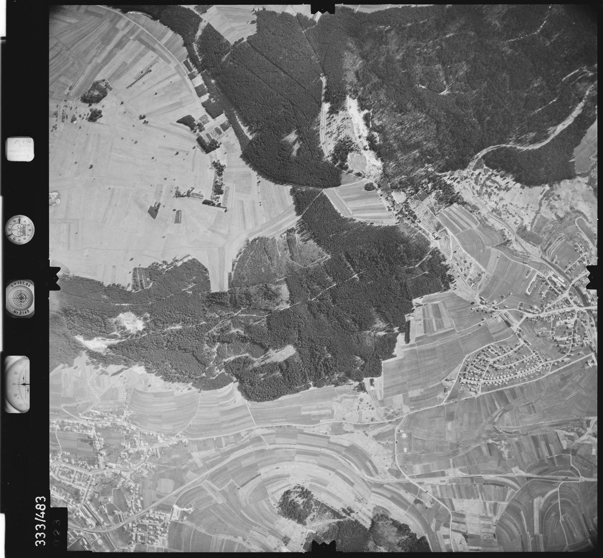 Luftbild: Film 49 Bildnr. 23, Bild 1