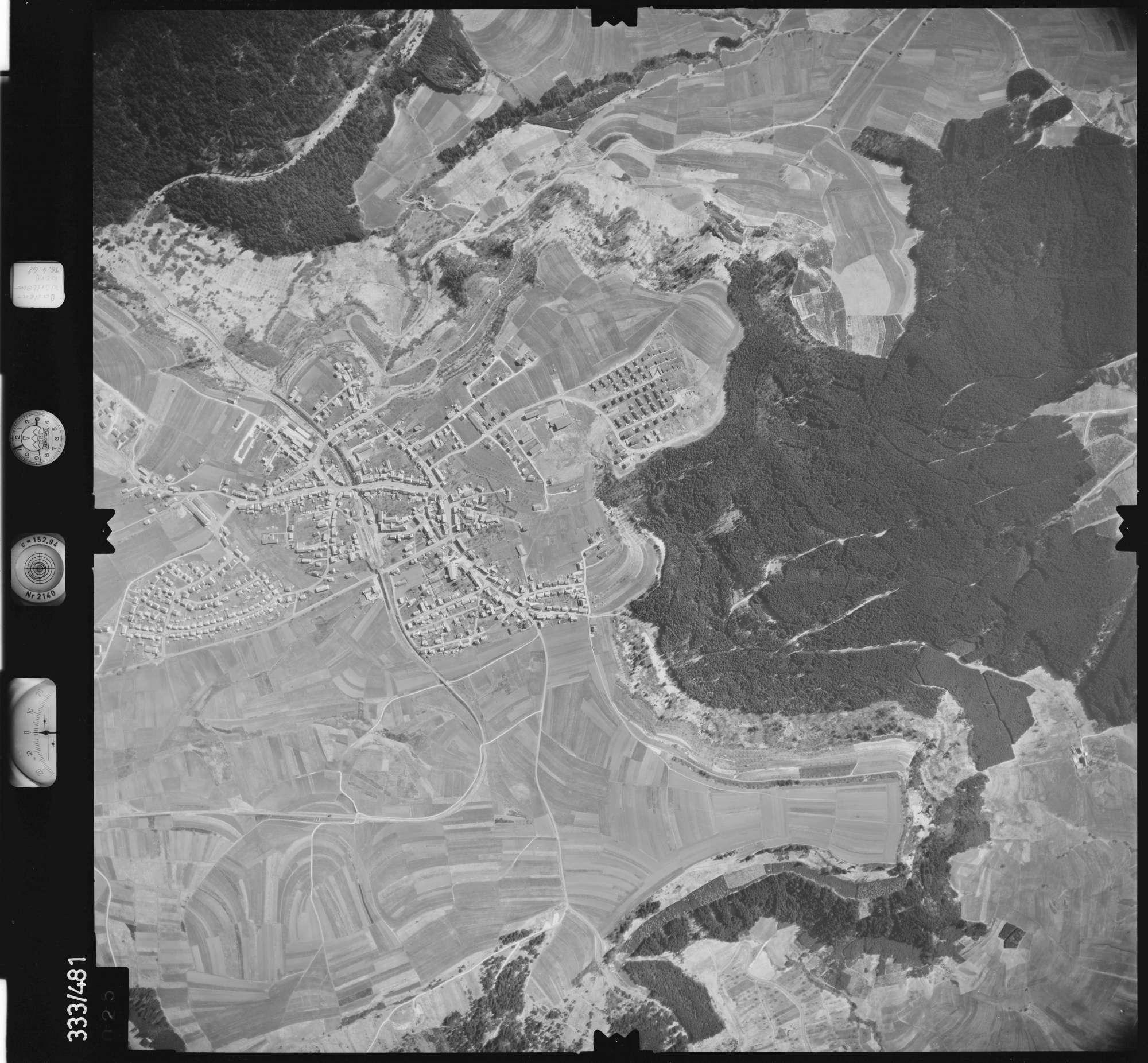 Luftbild: Film 49 Bildnr. 25, Bild 1