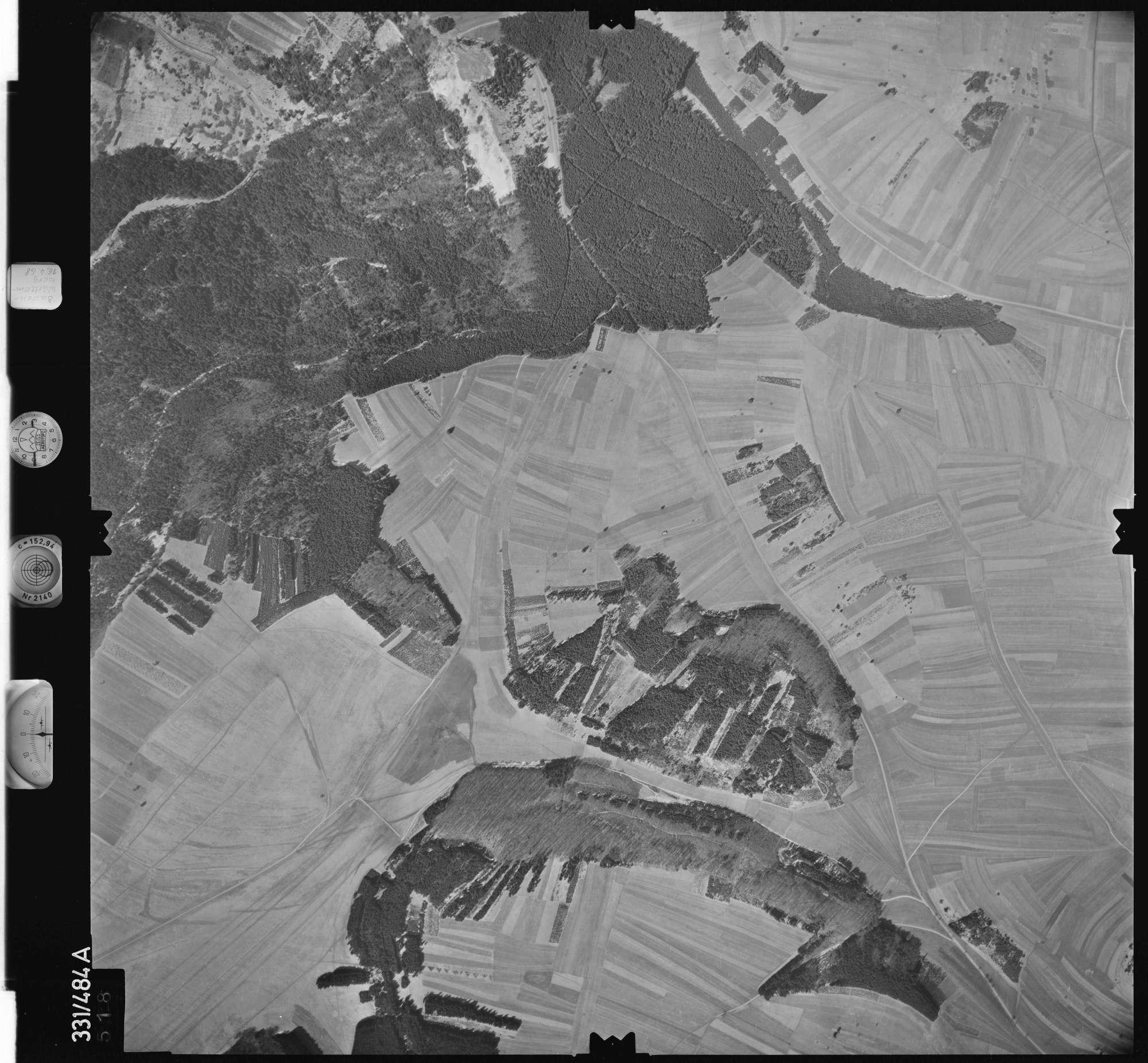 Luftbild: Film 89 Bildnr. 518, Bild 1