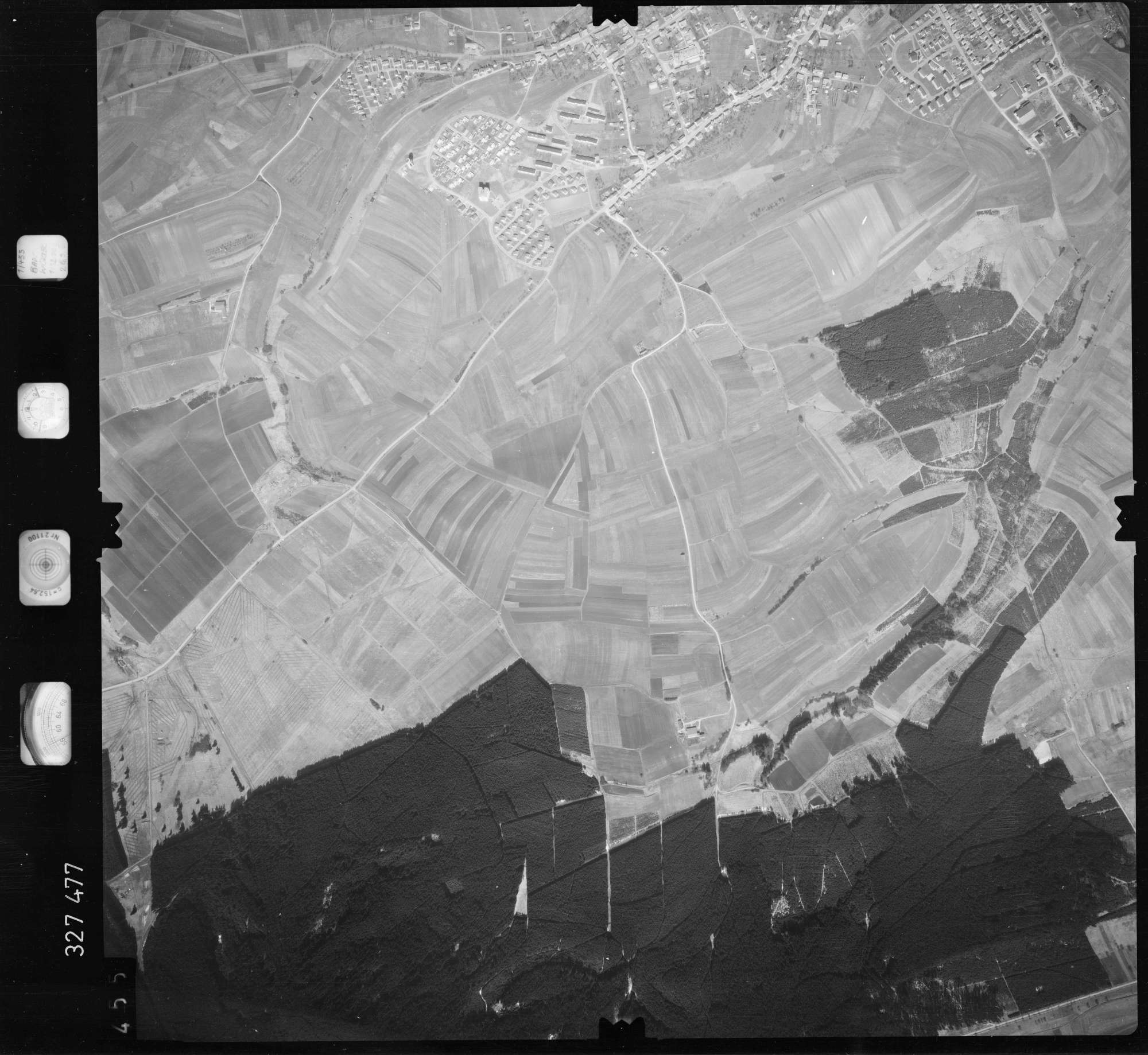 Luftbild: Film 52 Bildnr. 455, Bild 1