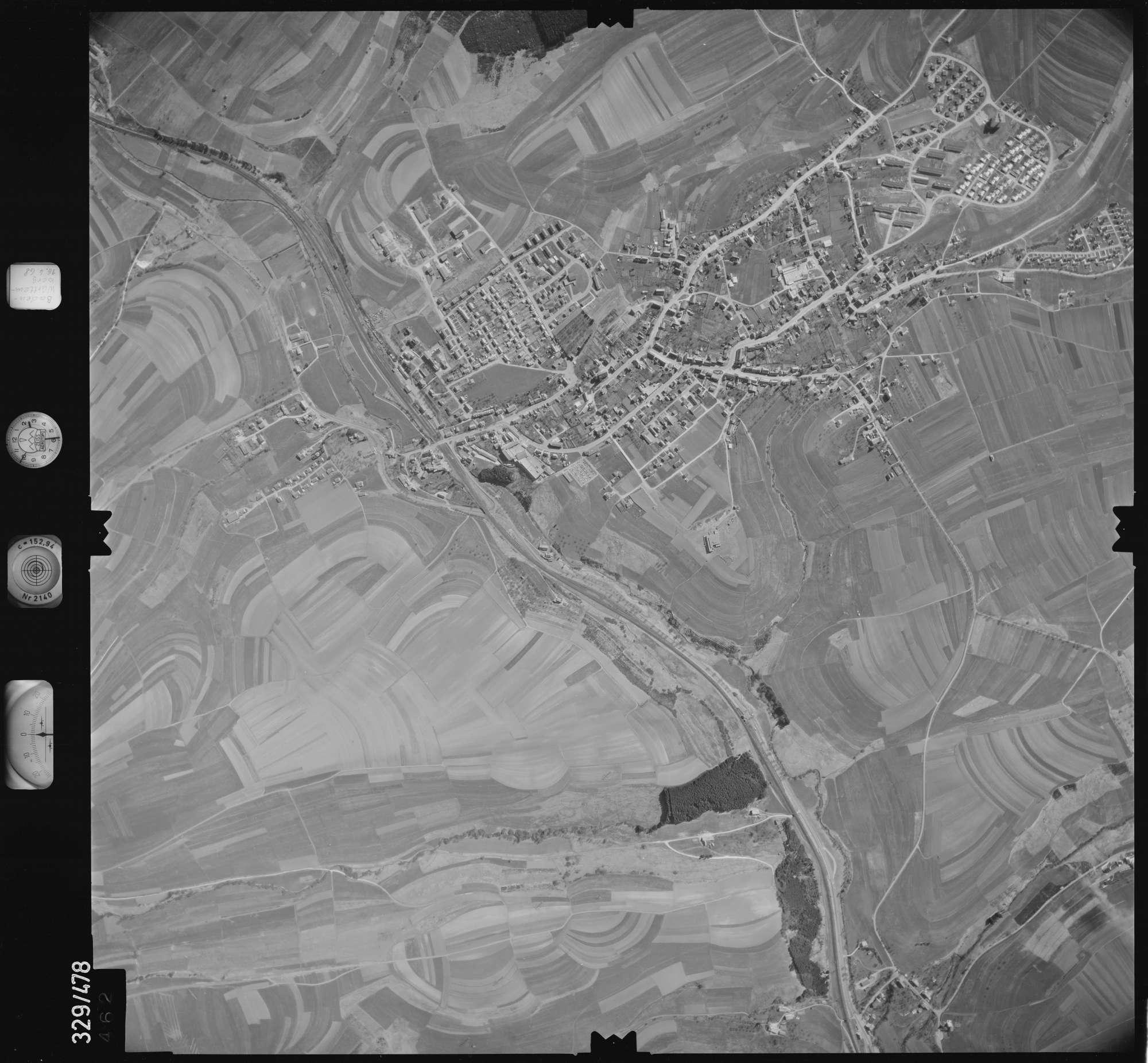 Luftbild: Film 89 Bildnr. 462, Bild 1