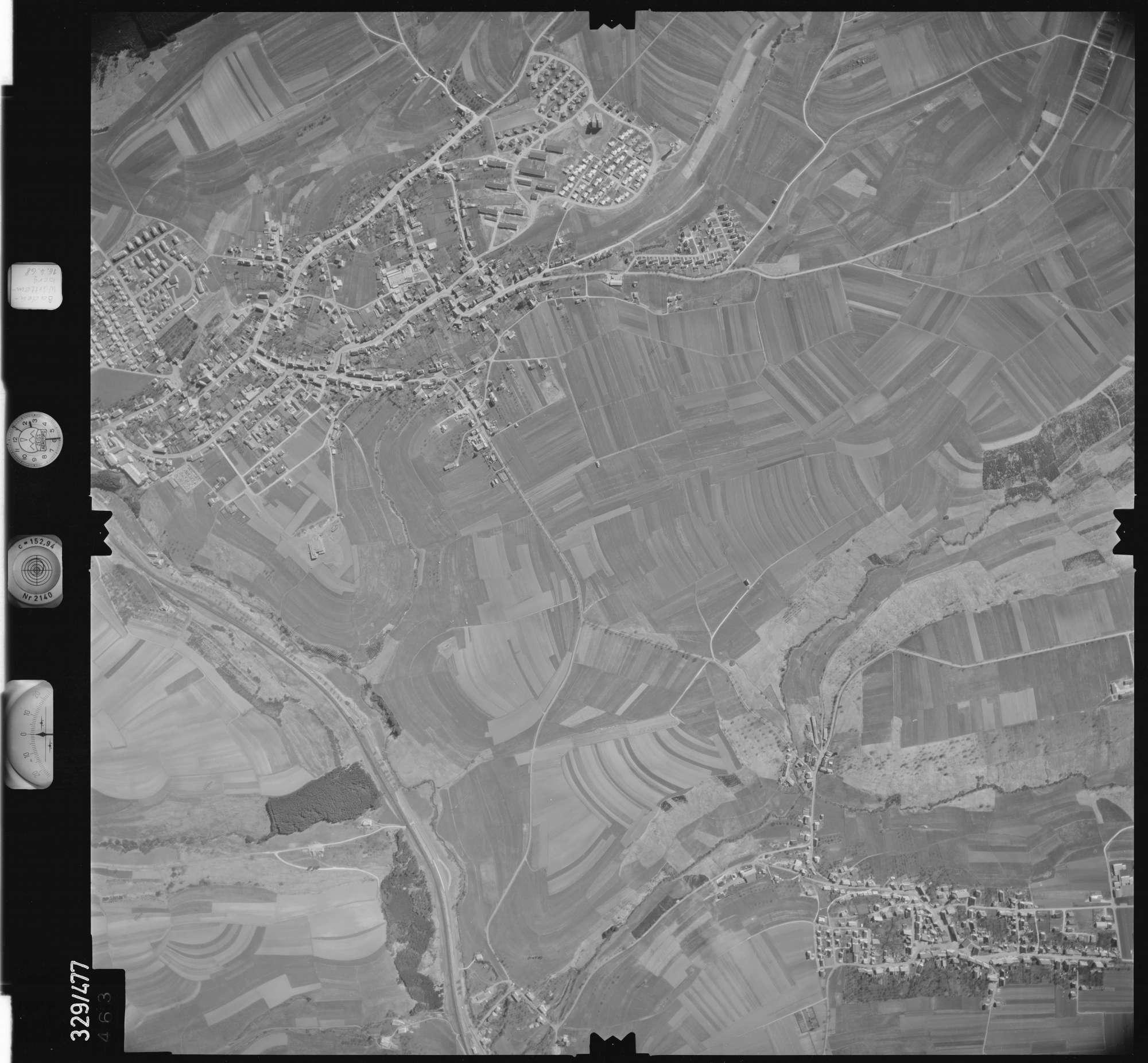 Luftbild: Film 89 Bildnr. 463, Bild 1