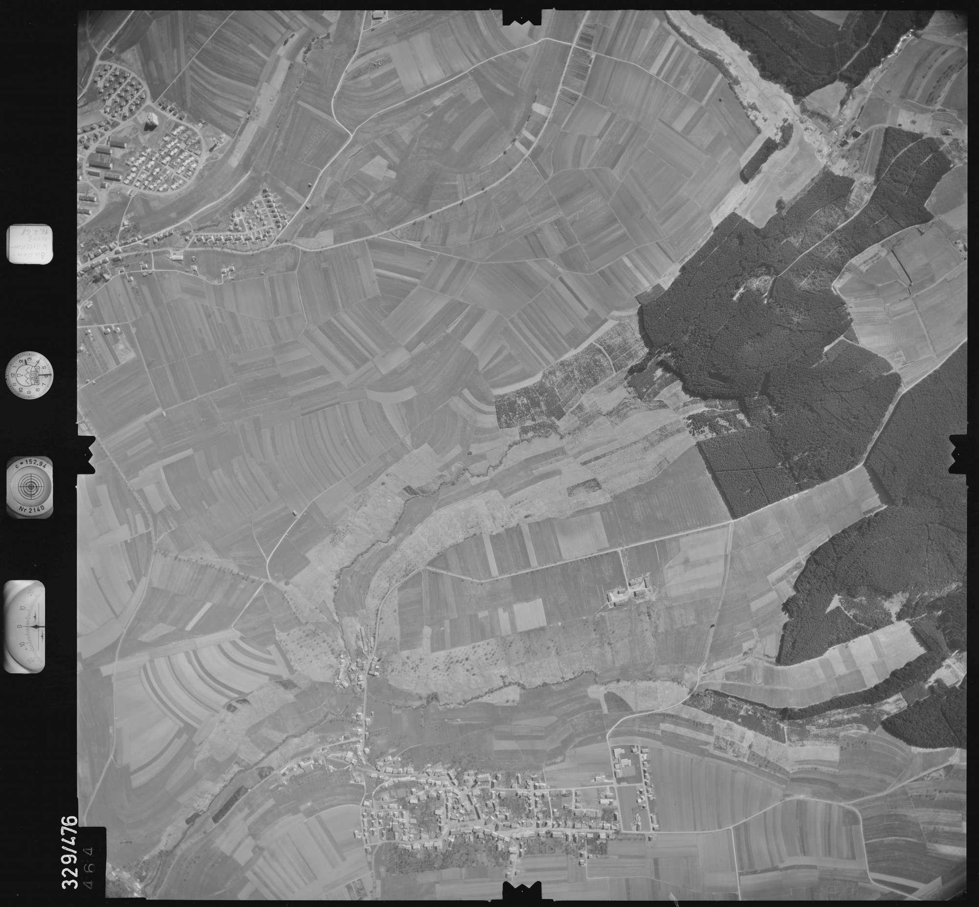 Luftbild: Film 89 Bildnr. 464, Bild 1