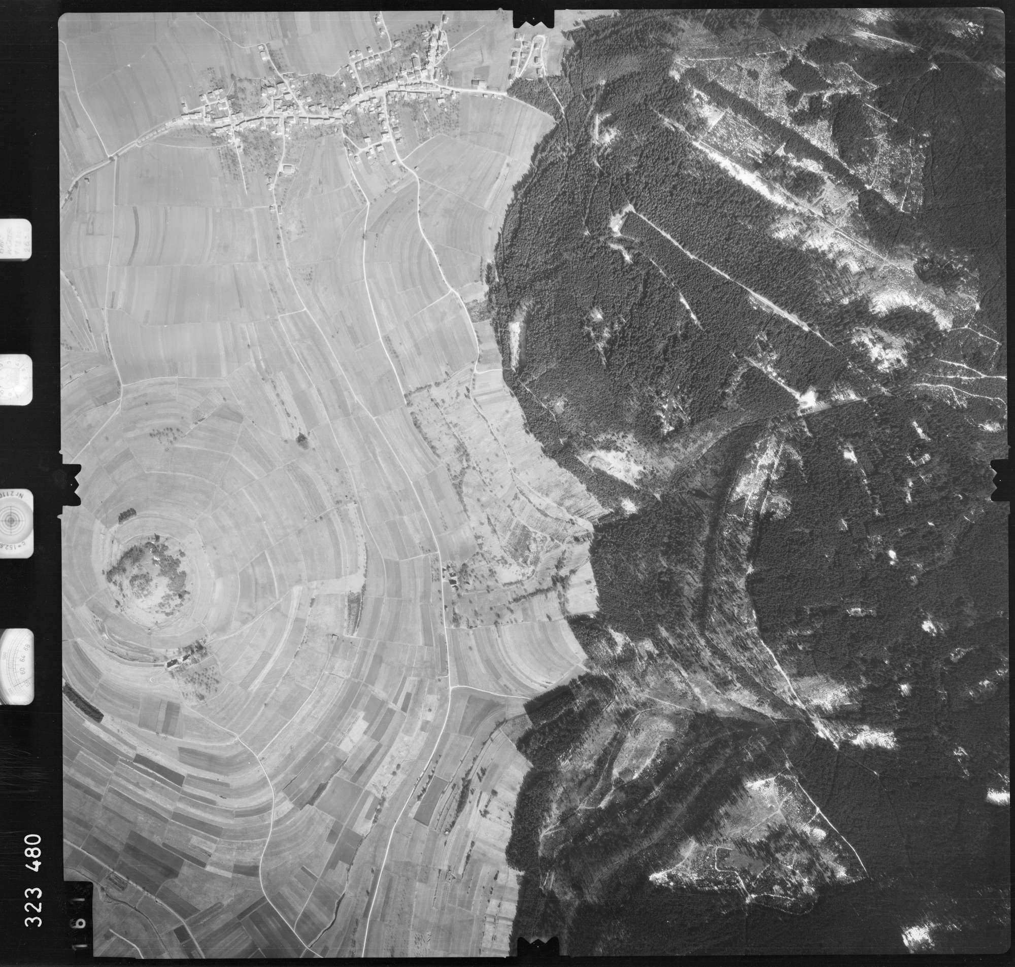 Luftbild: Film 53 Bildnr. 161, Bild 1