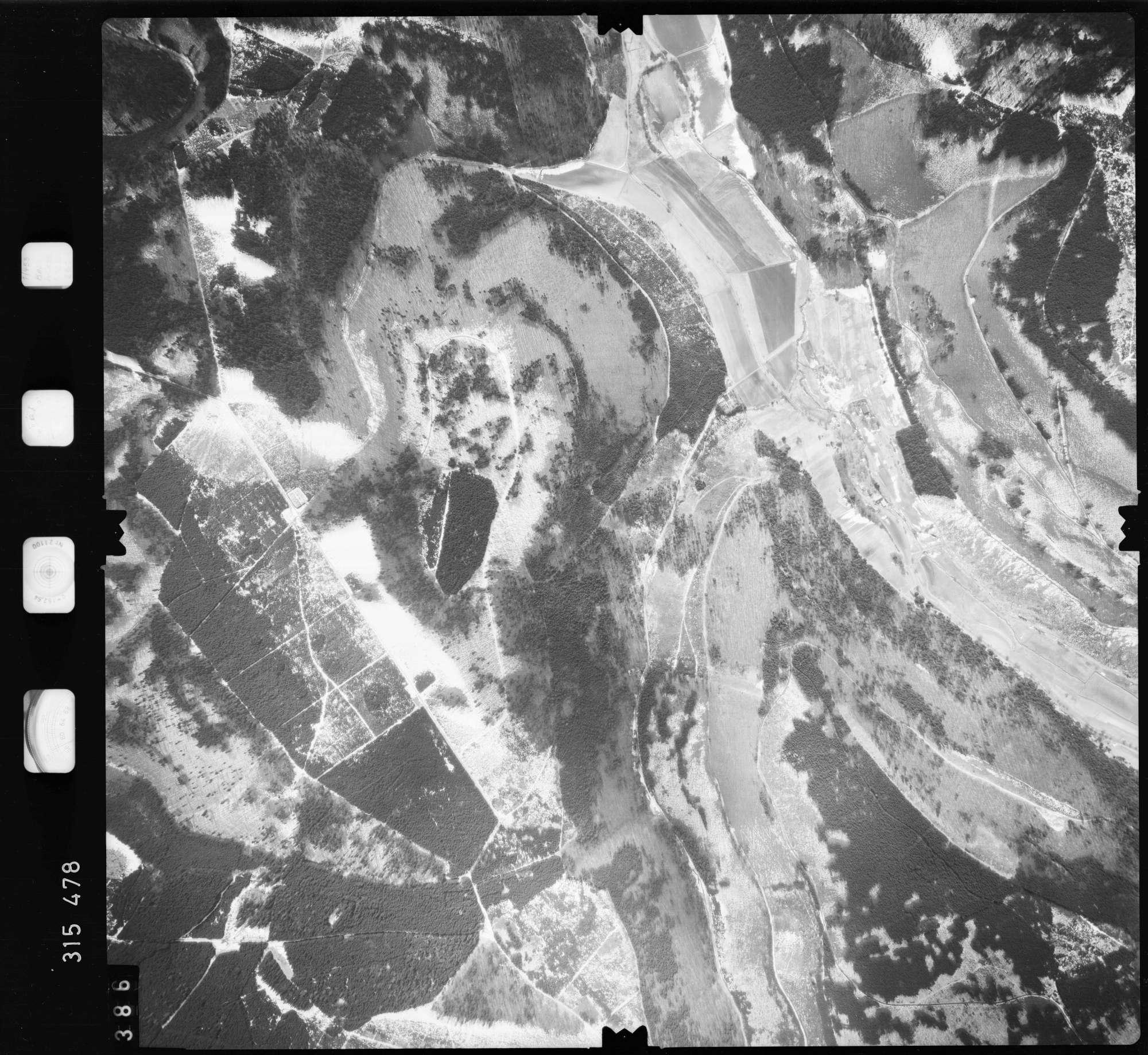 Luftbild: Film 58 Bildnr. 386, Bild 1