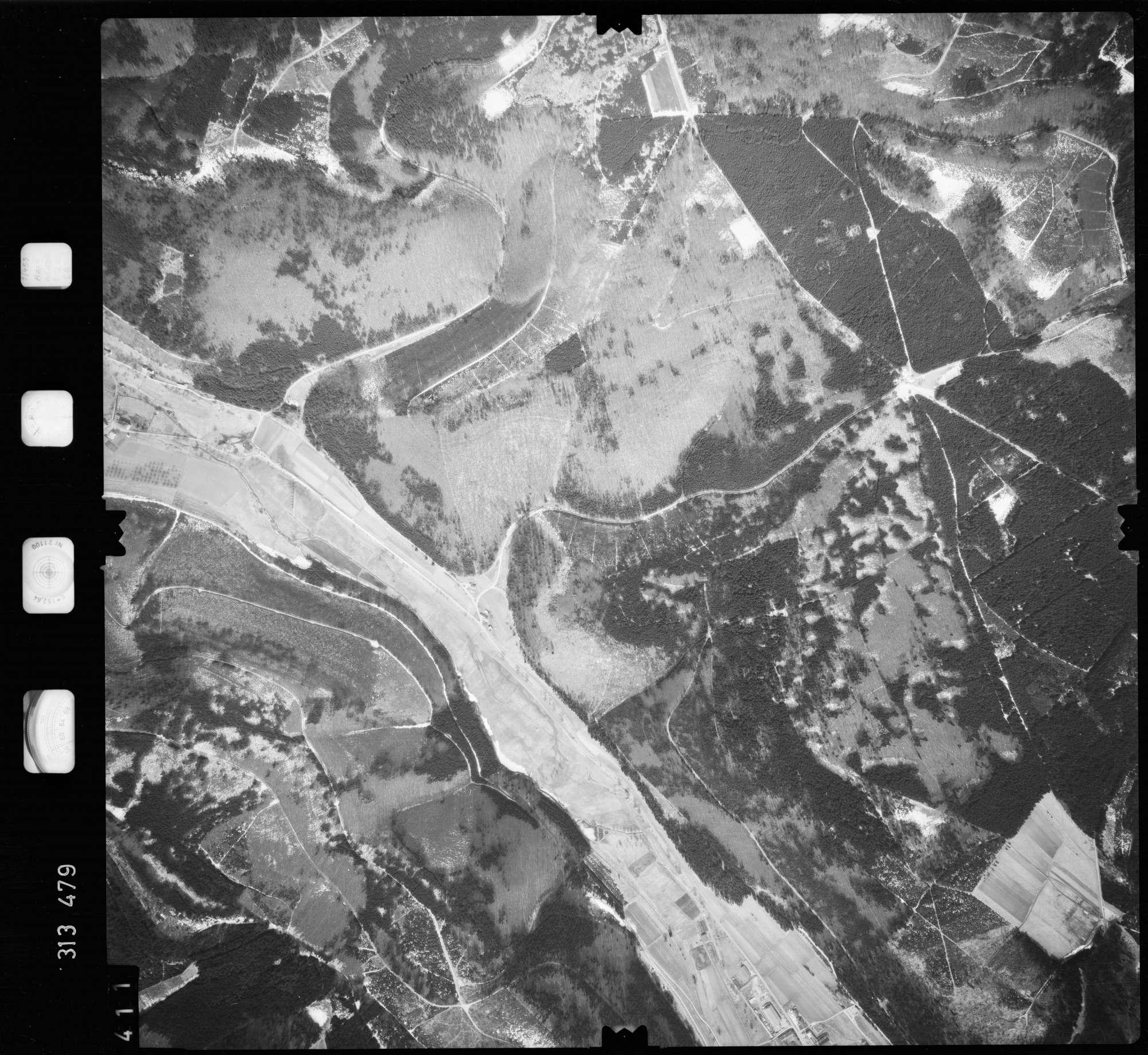 Luftbild: Film 58 Bildnr. 411, Bild 1