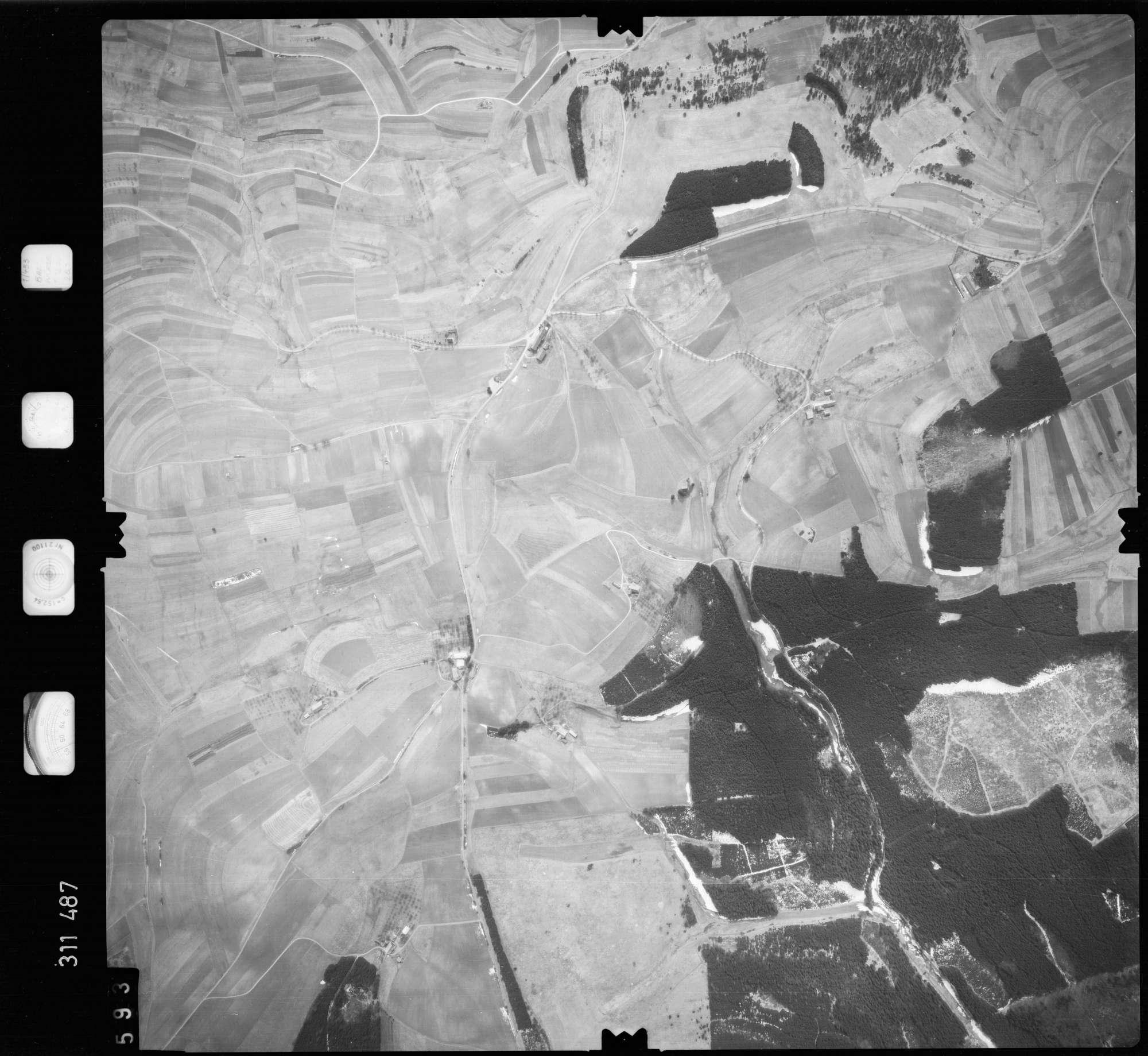 Luftbild: Film 58 Bildnr. 593, Bild 1