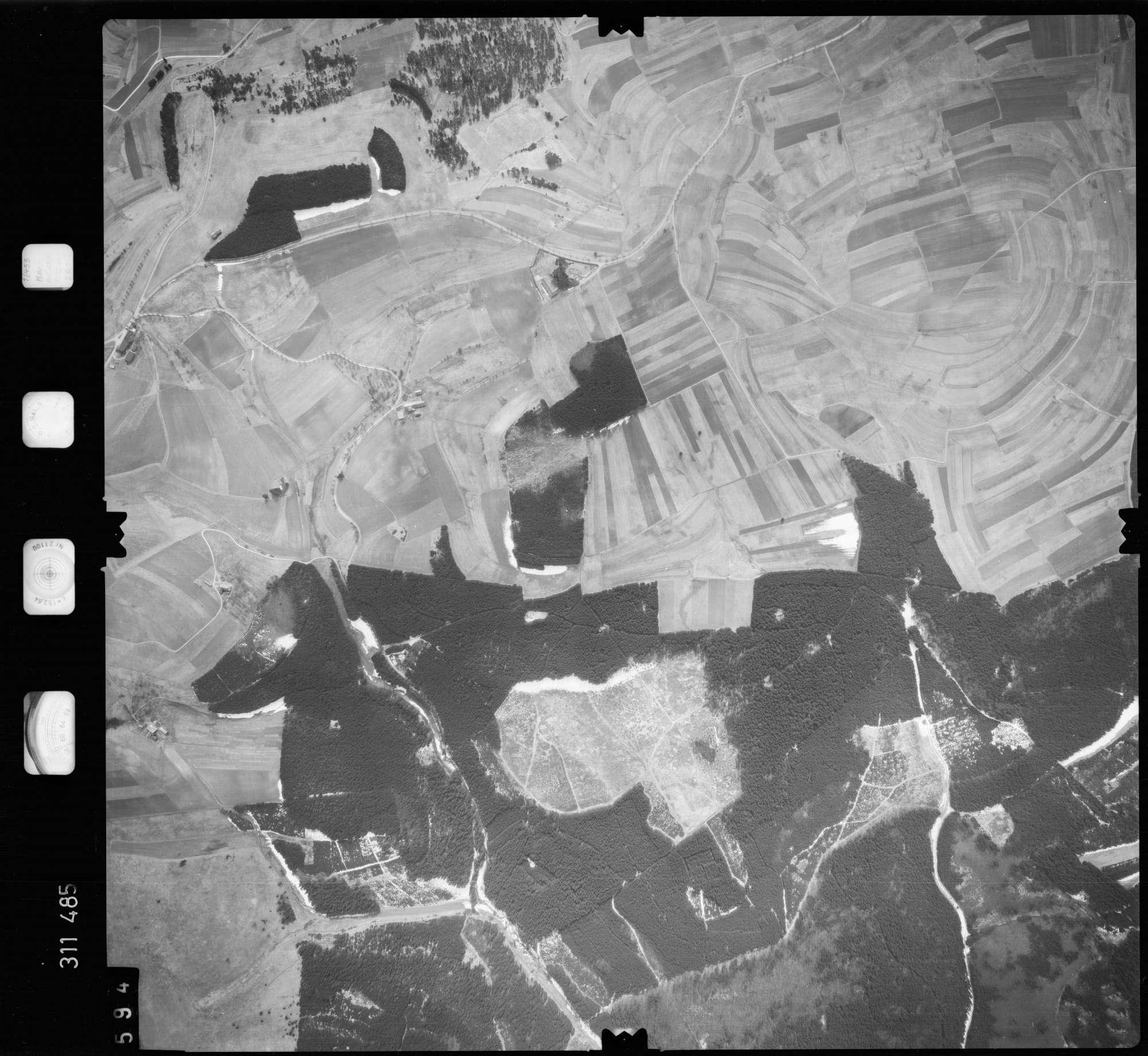 Luftbild: Film 58 Bildnr. 594, Bild 1