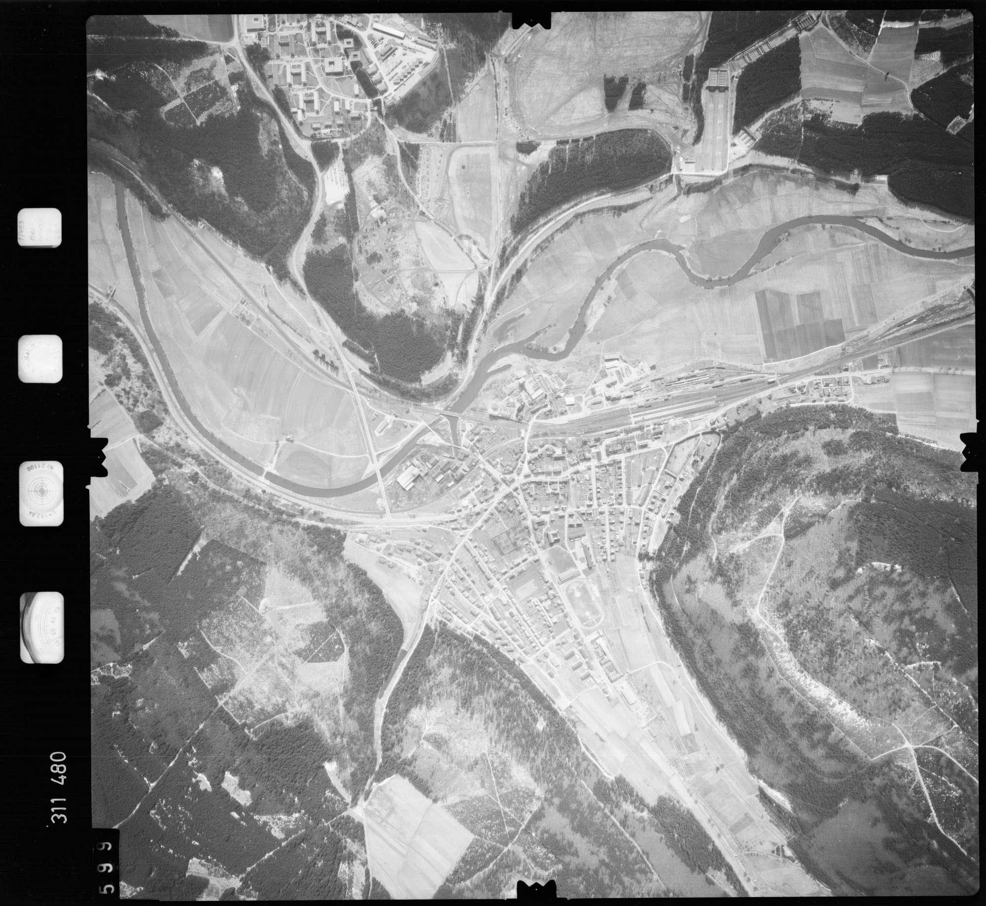 Luftbild: Film 58 Bildnr. 599, Bild 1