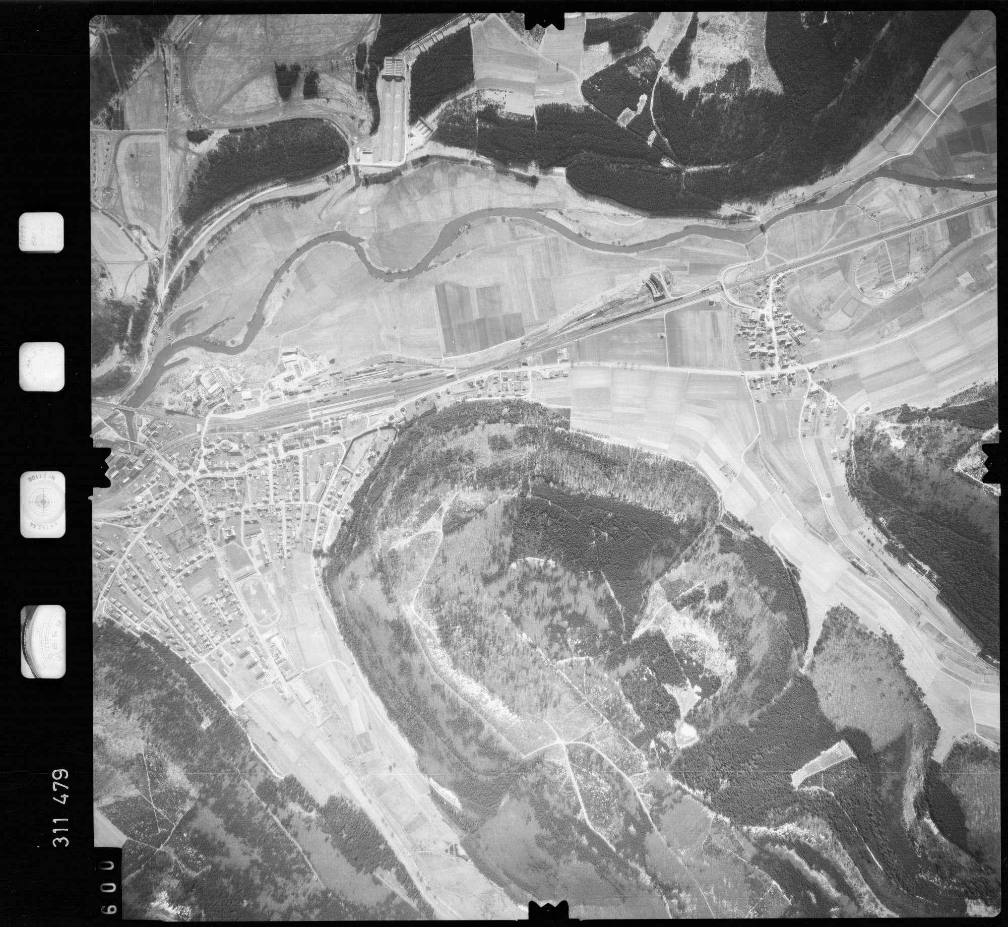 Luftbild: Film 58 Bildnr. 600, Bild 1