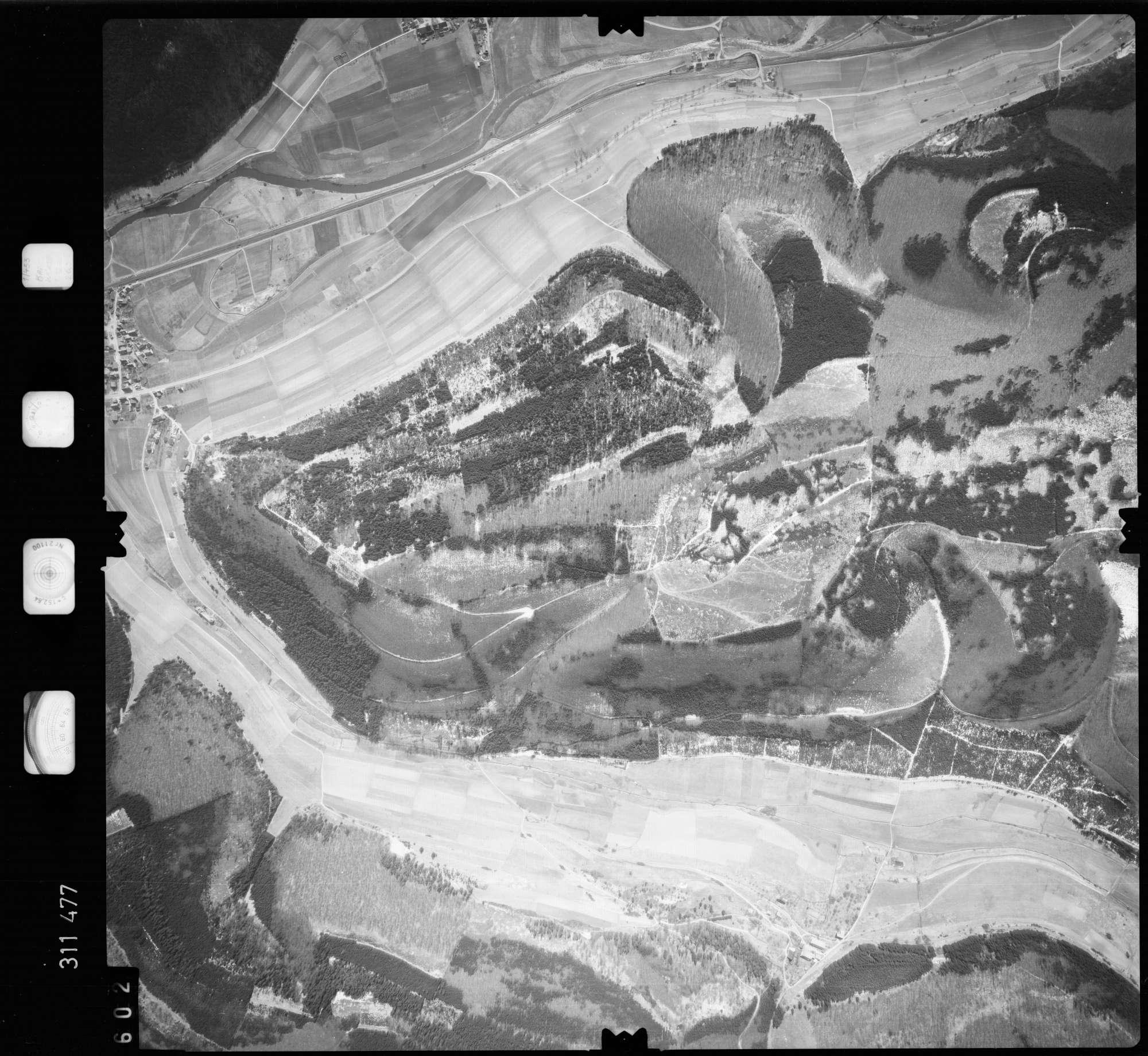 Luftbild: Film 58 Bildnr. 602, Bild 1