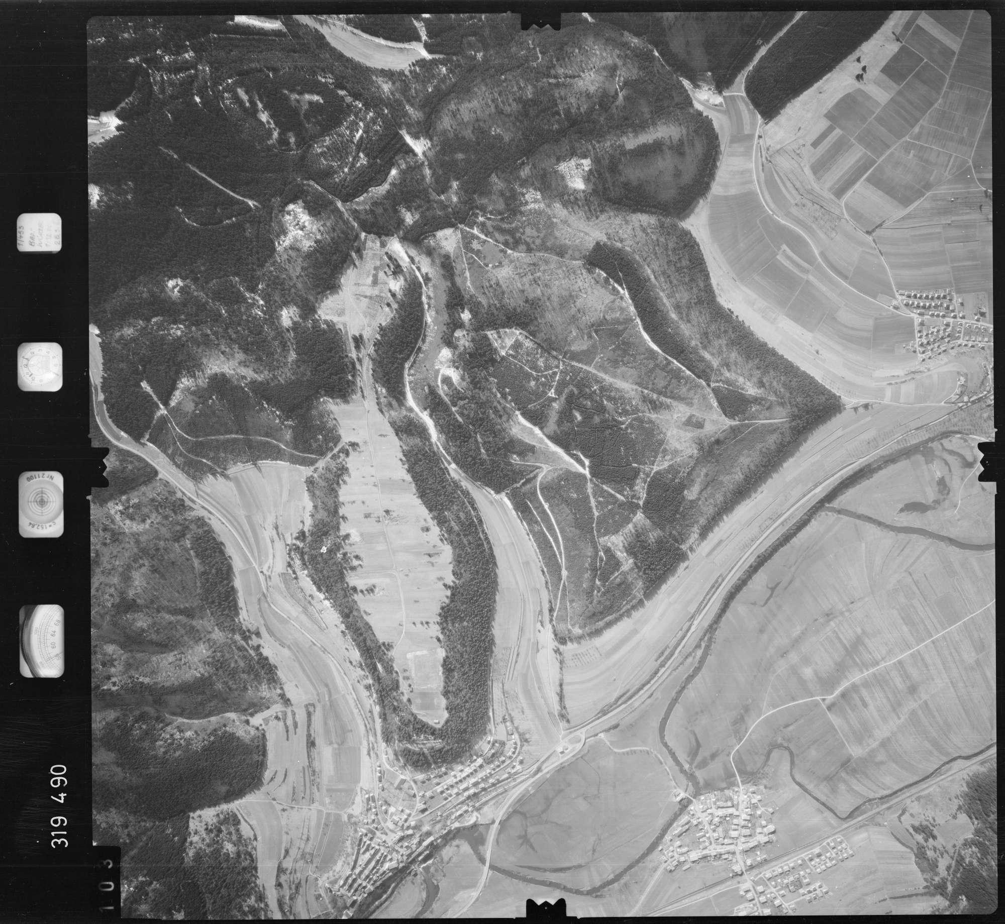 Luftbild: Film 57 Bildnr. 103, Bild 1