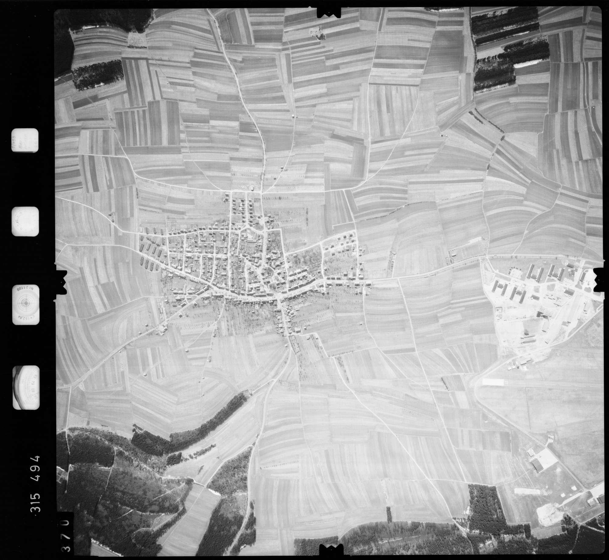 Luftbild: Film 58 Bildnr. 370, Bild 1