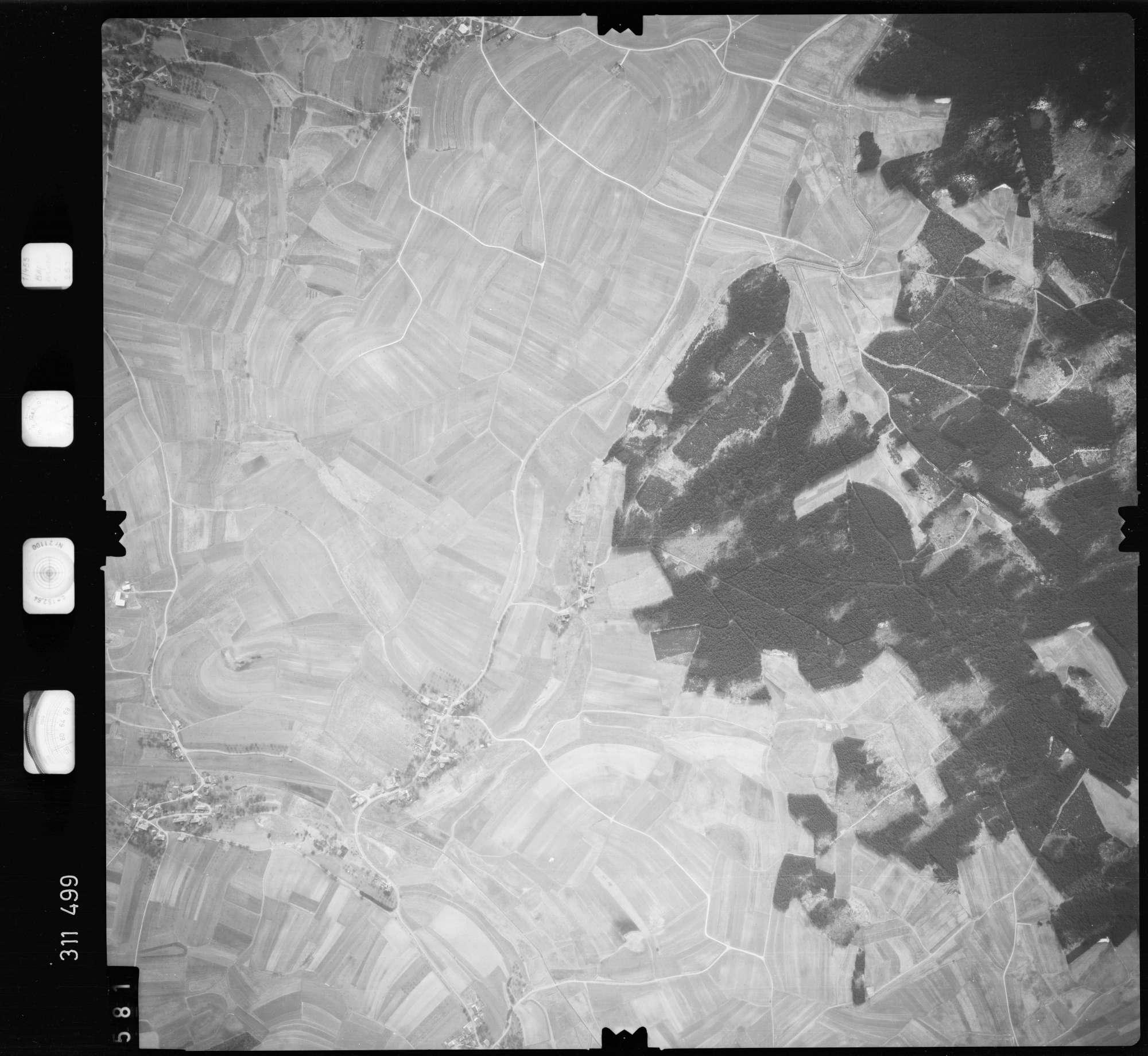 Luftbild: Film 58 Bildnr. 581, Bild 1