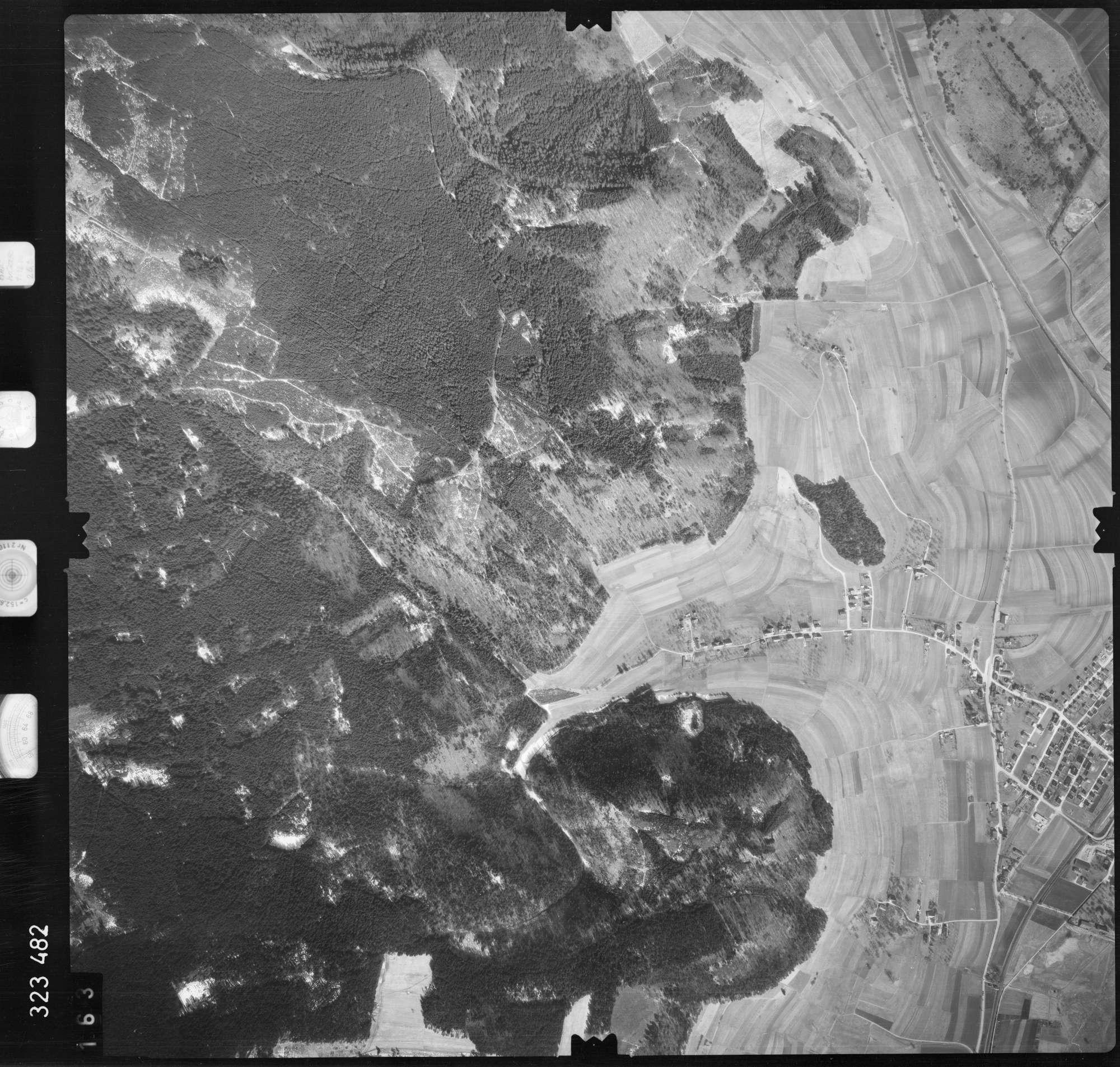 Luftbild: Film 53 Bildnr. 163, Bild 1