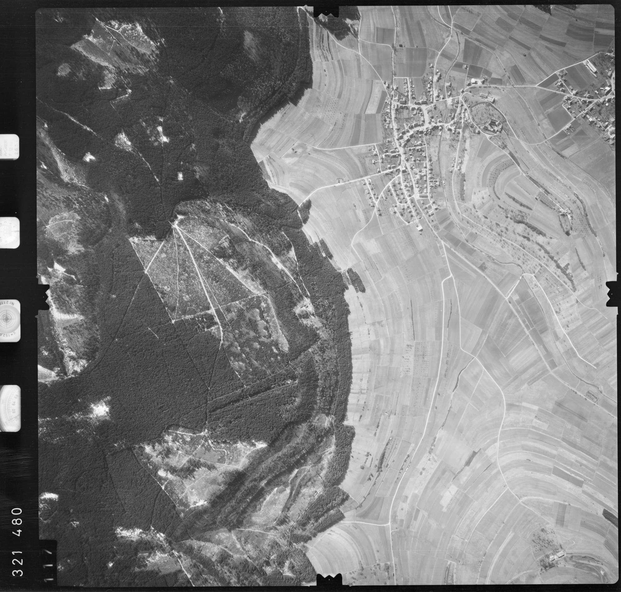 Luftbild: Film 53 Bildnr. 117, Bild 1
