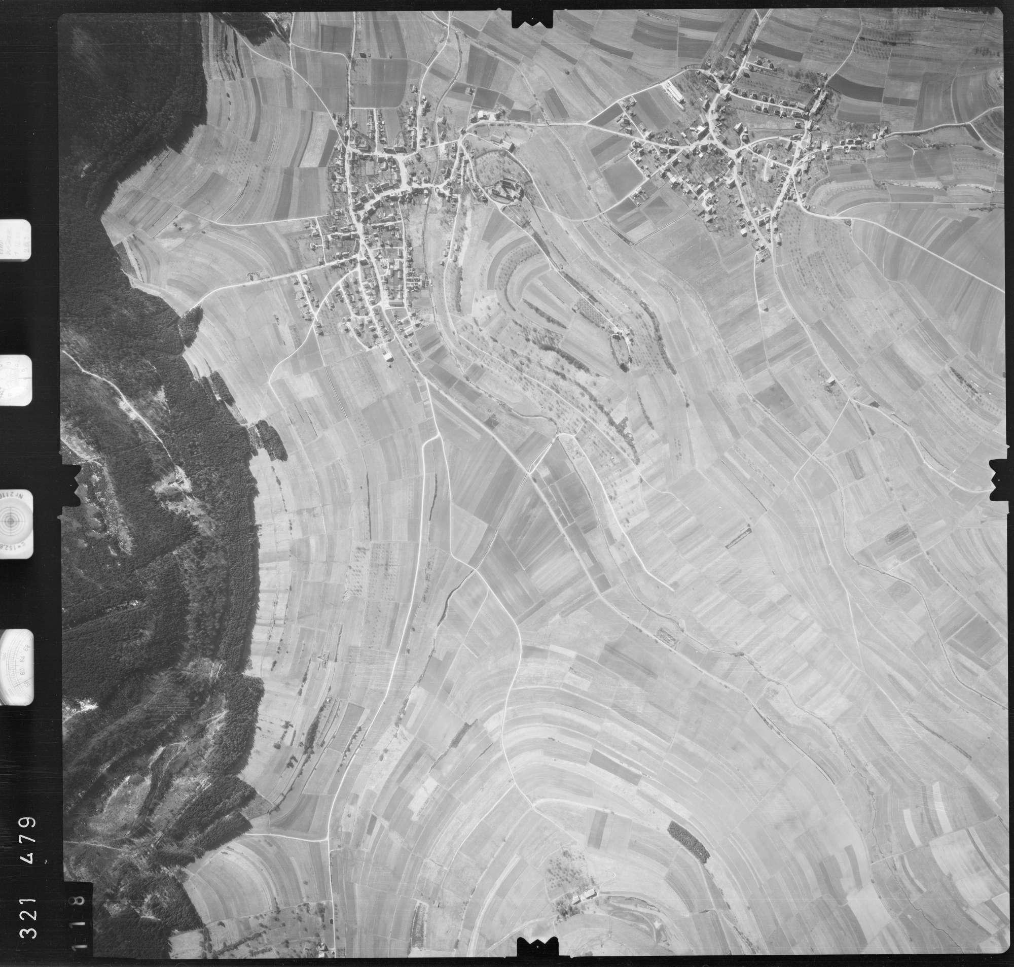 Luftbild: Film 53 Bildnr. 118, Bild 1
