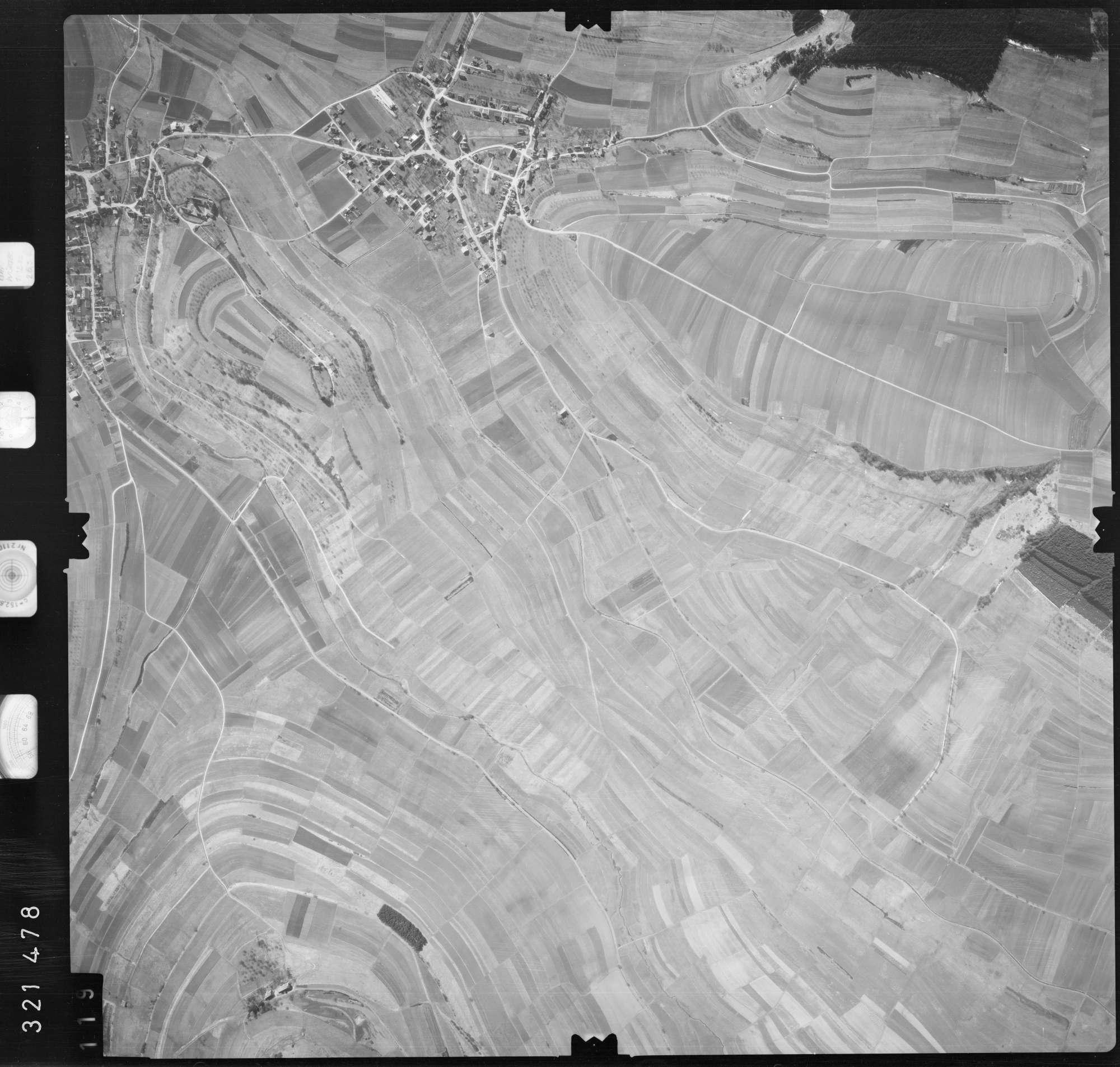 Luftbild: Film 53 Bildnr. 119, Bild 1