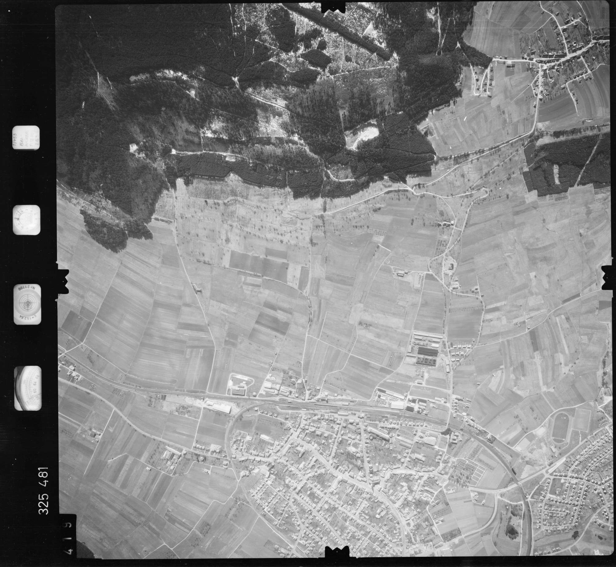 Luftbild: Film 52 Bildnr. 419, Bild 1