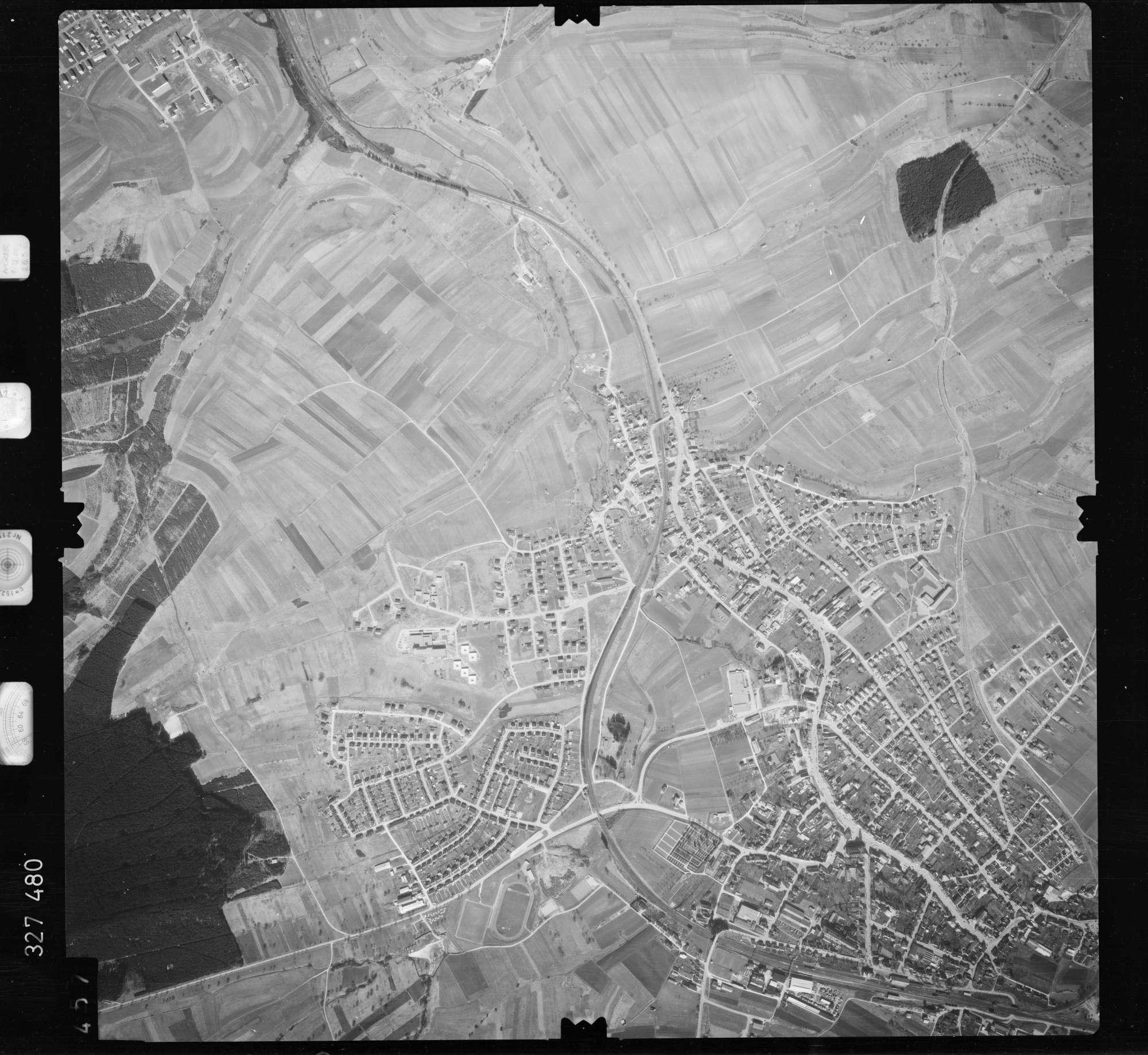 Luftbild: Film 52 Bildnr. 457, Bild 1