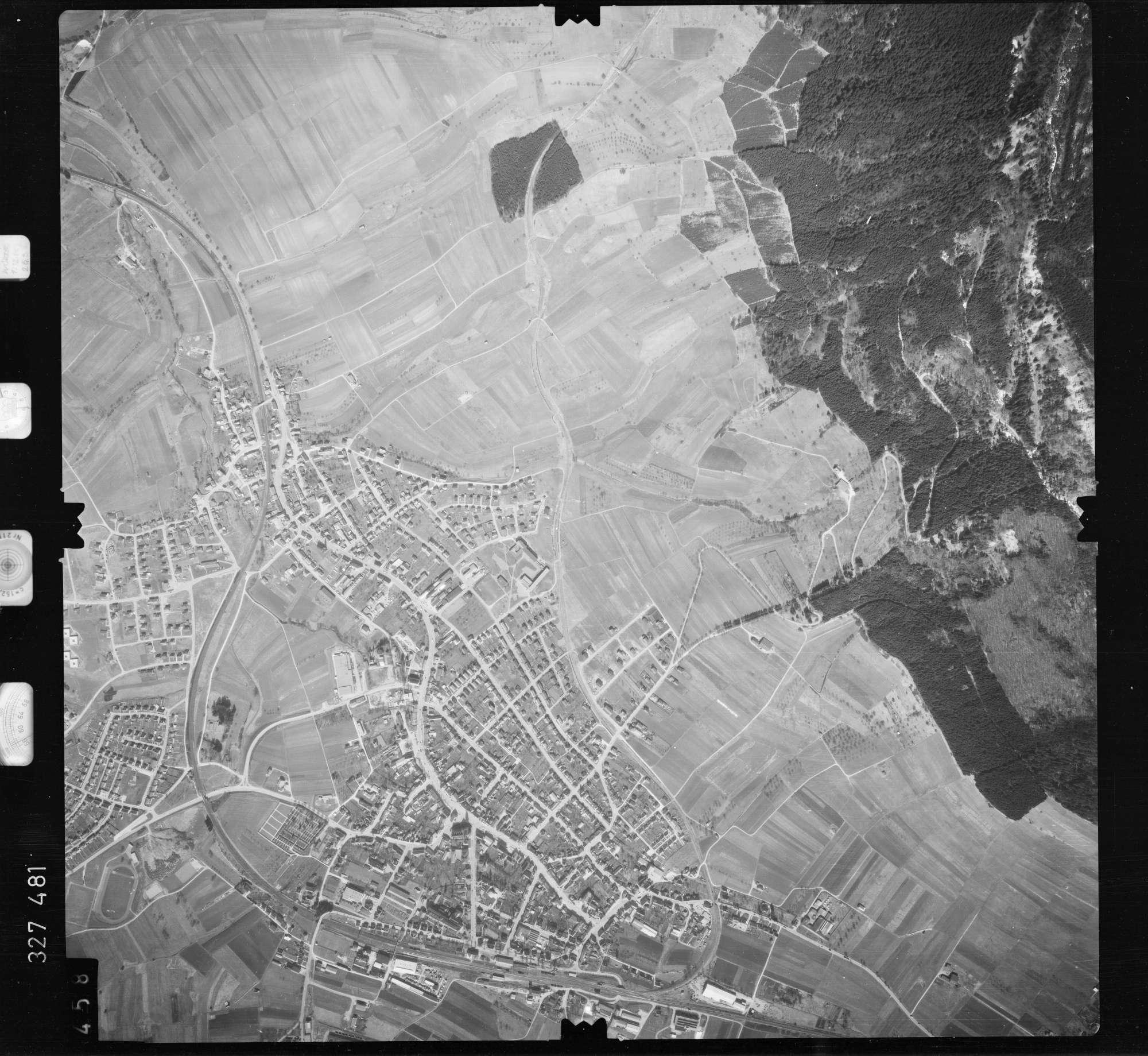 Luftbild: Film 52 Bildnr. 458, Bild 1