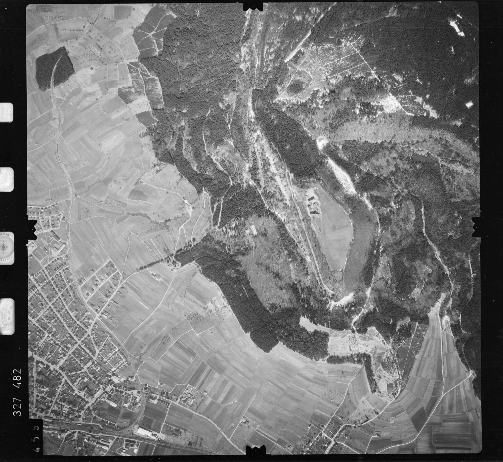 Luftbild: Film 52 Bildnr. 459, Bild 1