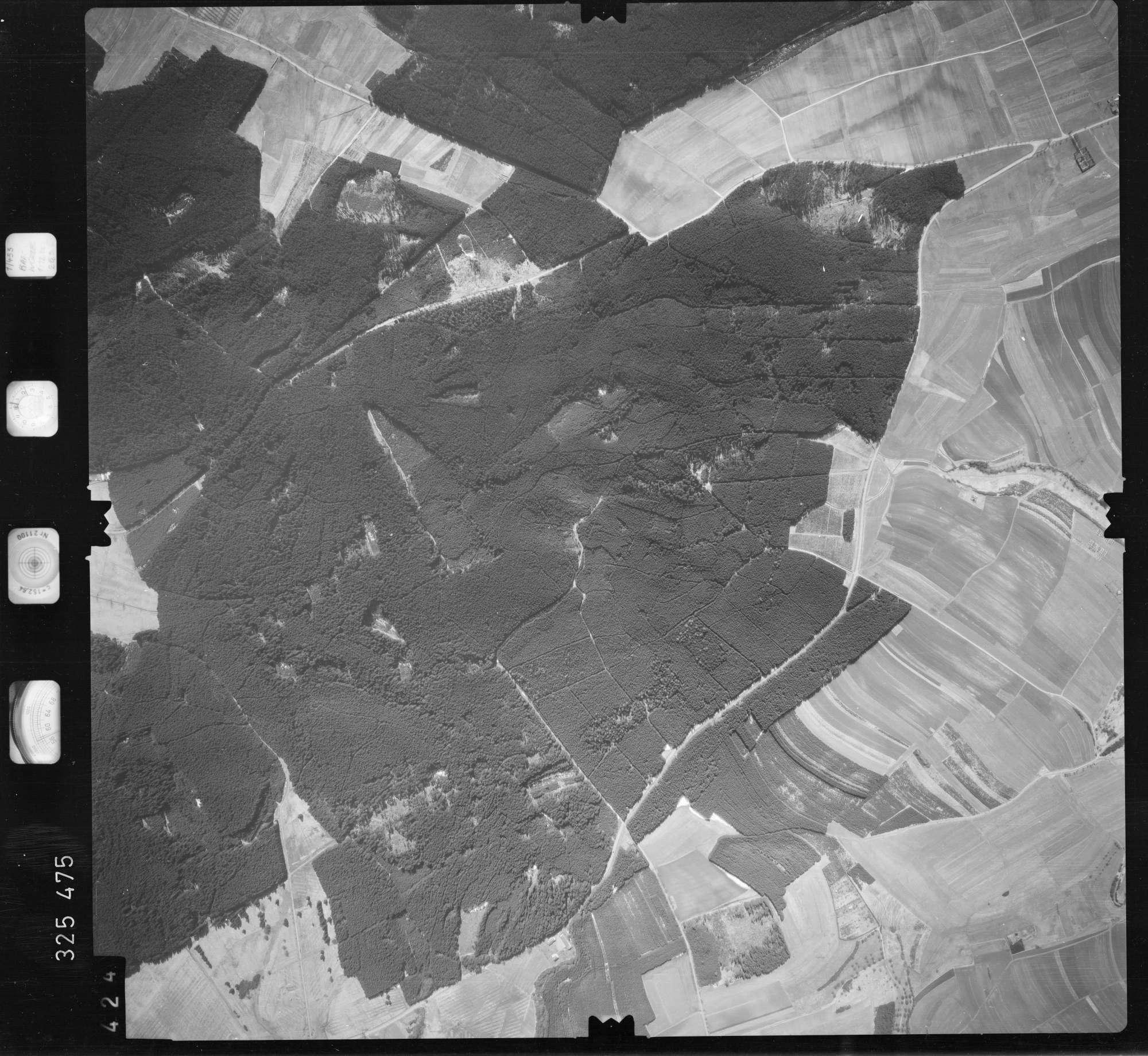 Luftbild: Film 52 Bildnr. 424, Bild 1