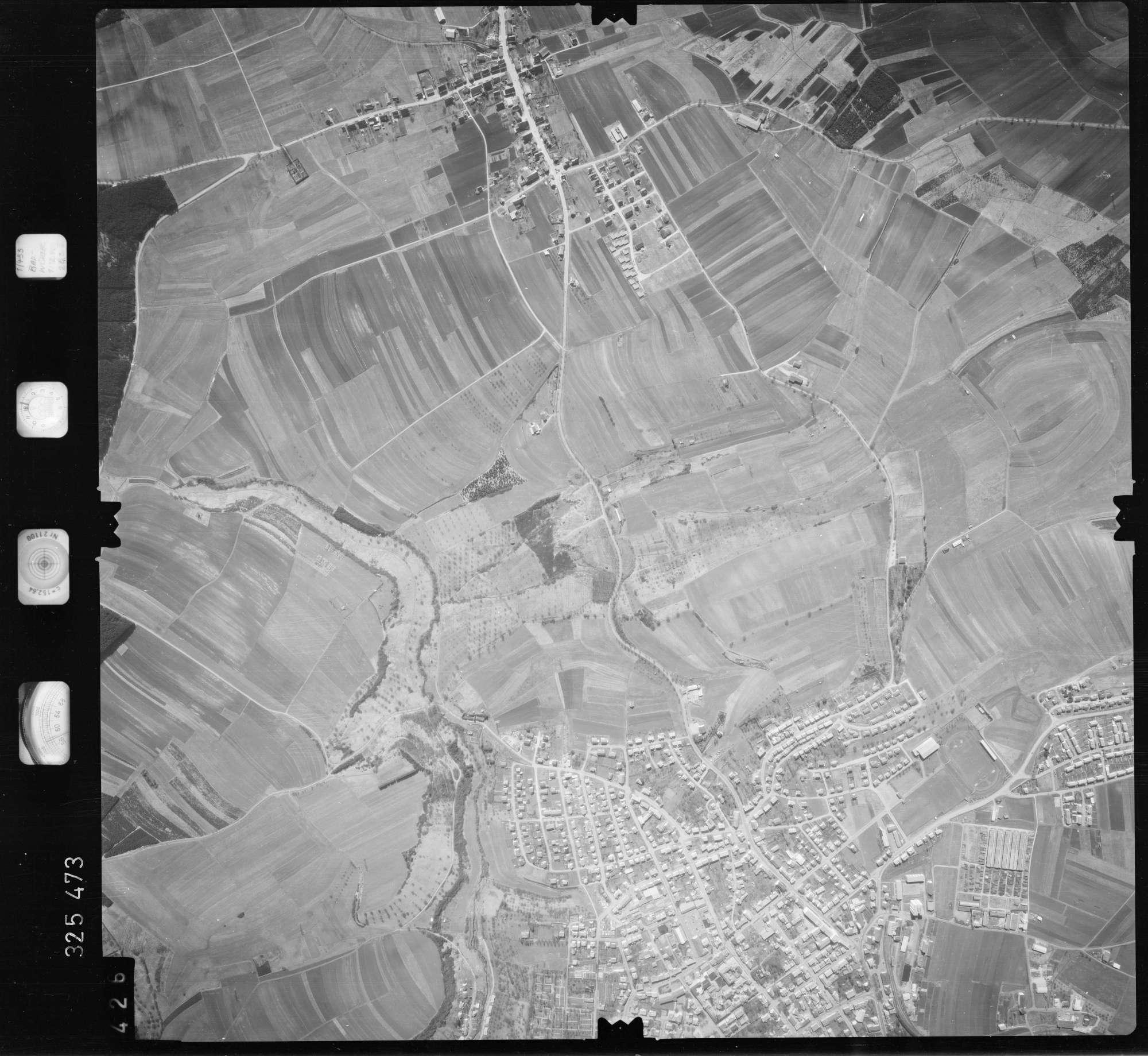 Luftbild: Film 52 Bildnr. 426, Bild 1
