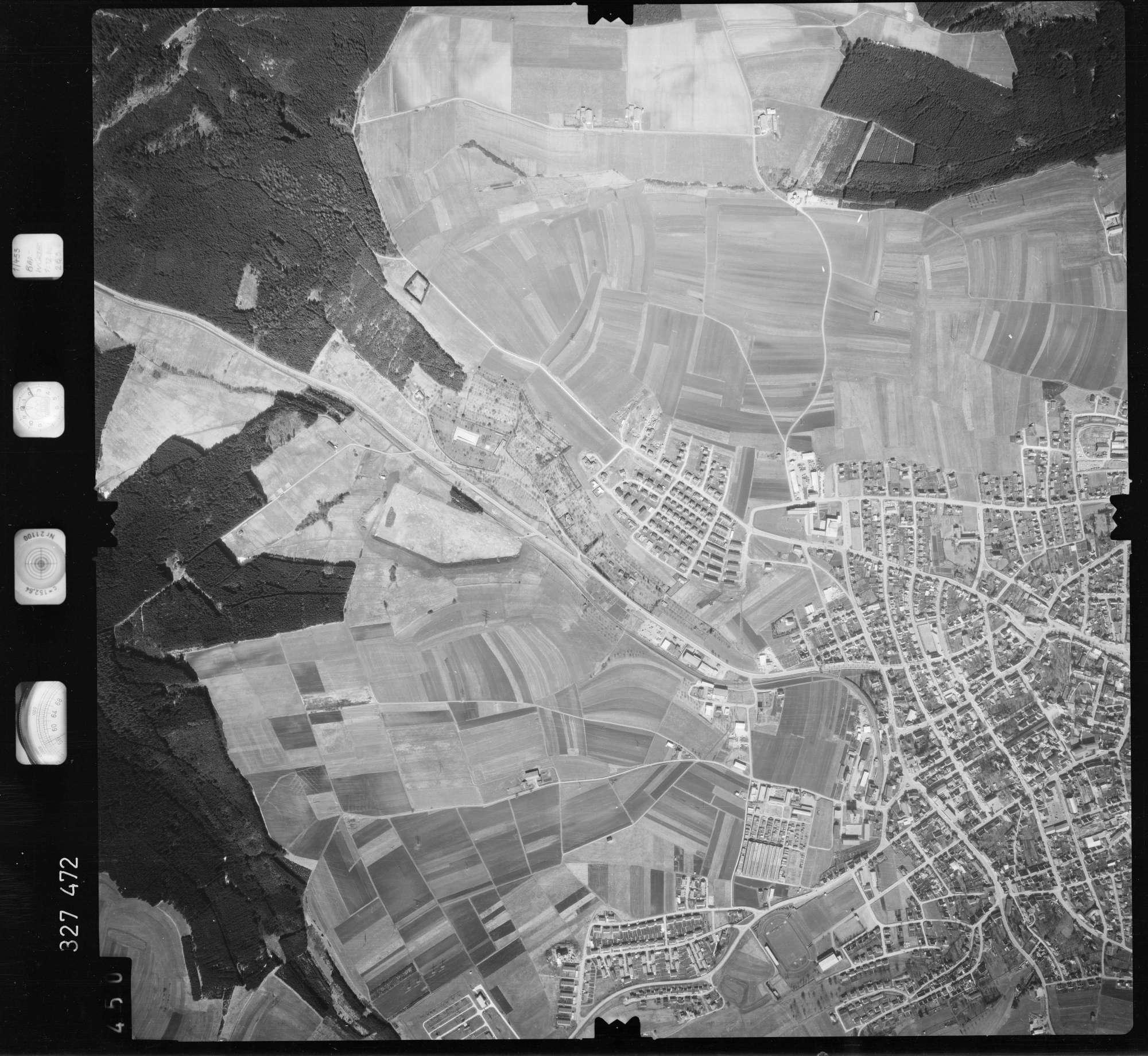 Luftbild: Film 52 Bildnr. 450, Bild 1